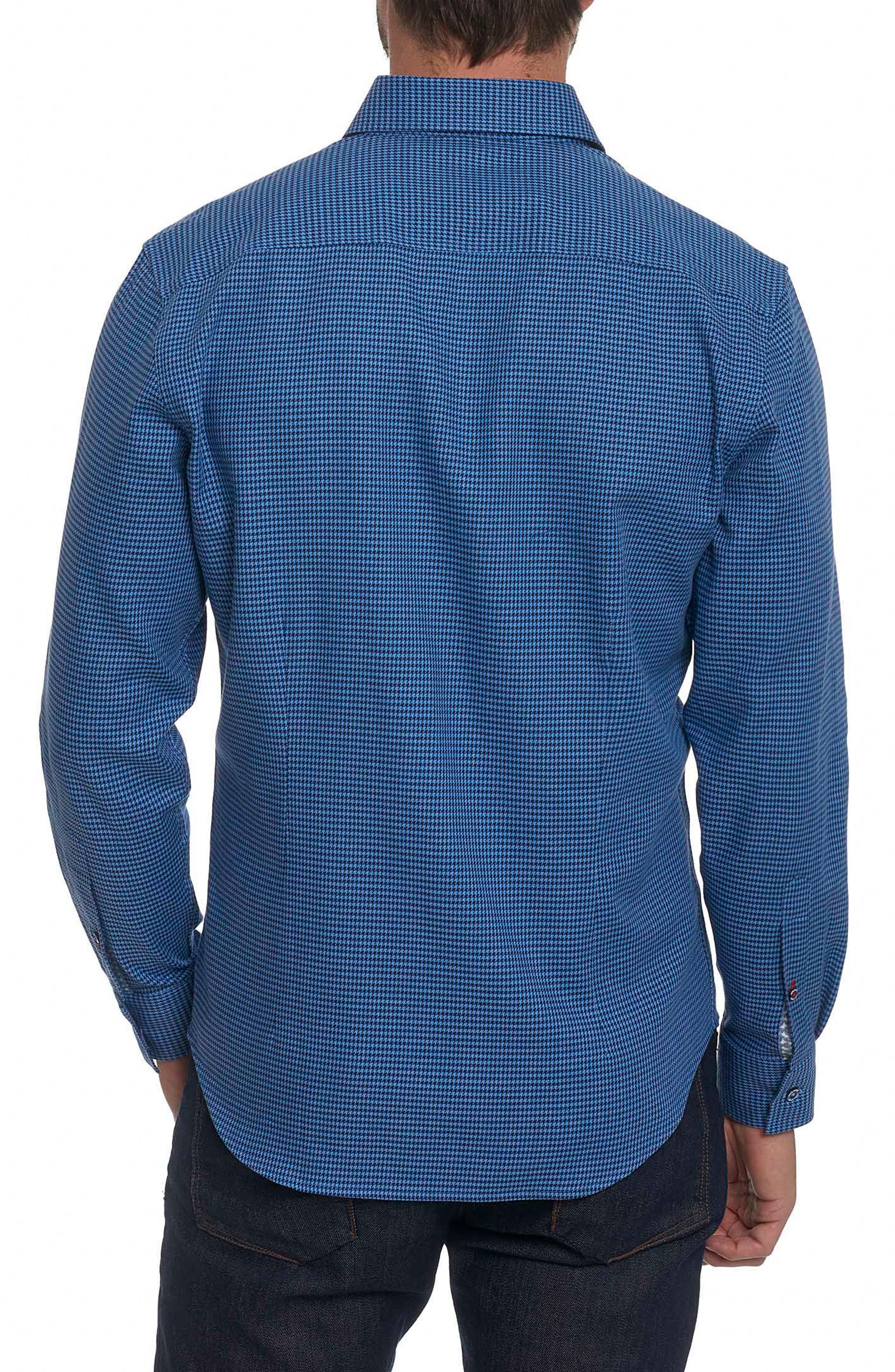 Colin Tailored Fit Sport Shirt,                             Alternate thumbnail 3, color,
