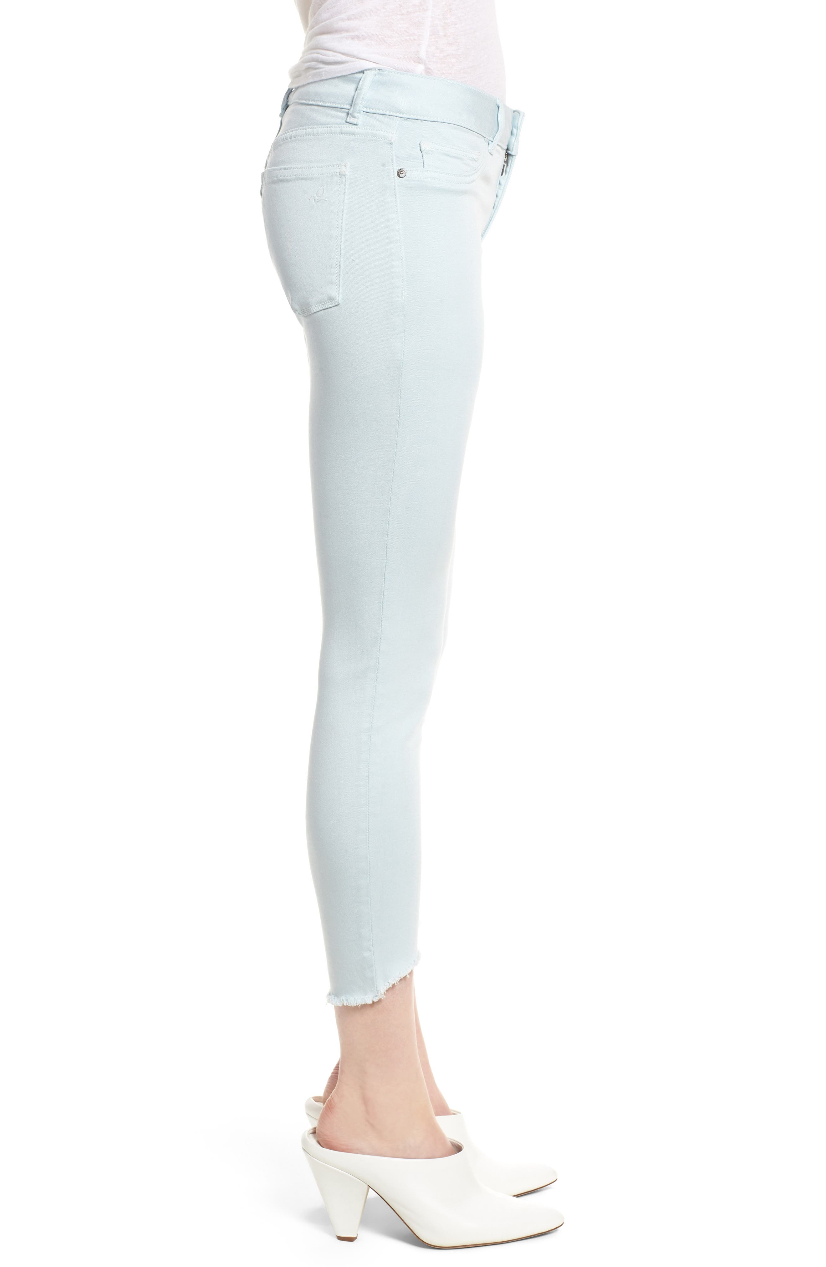 Florence Instasculpt Crop Skinny Jeans,                             Alternate thumbnail 3, color,                             430