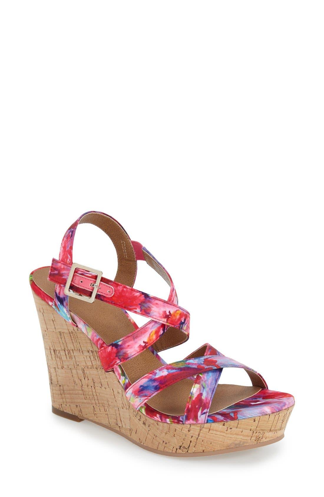 'Summers' Wedge Sandal,                             Main thumbnail 7, color,