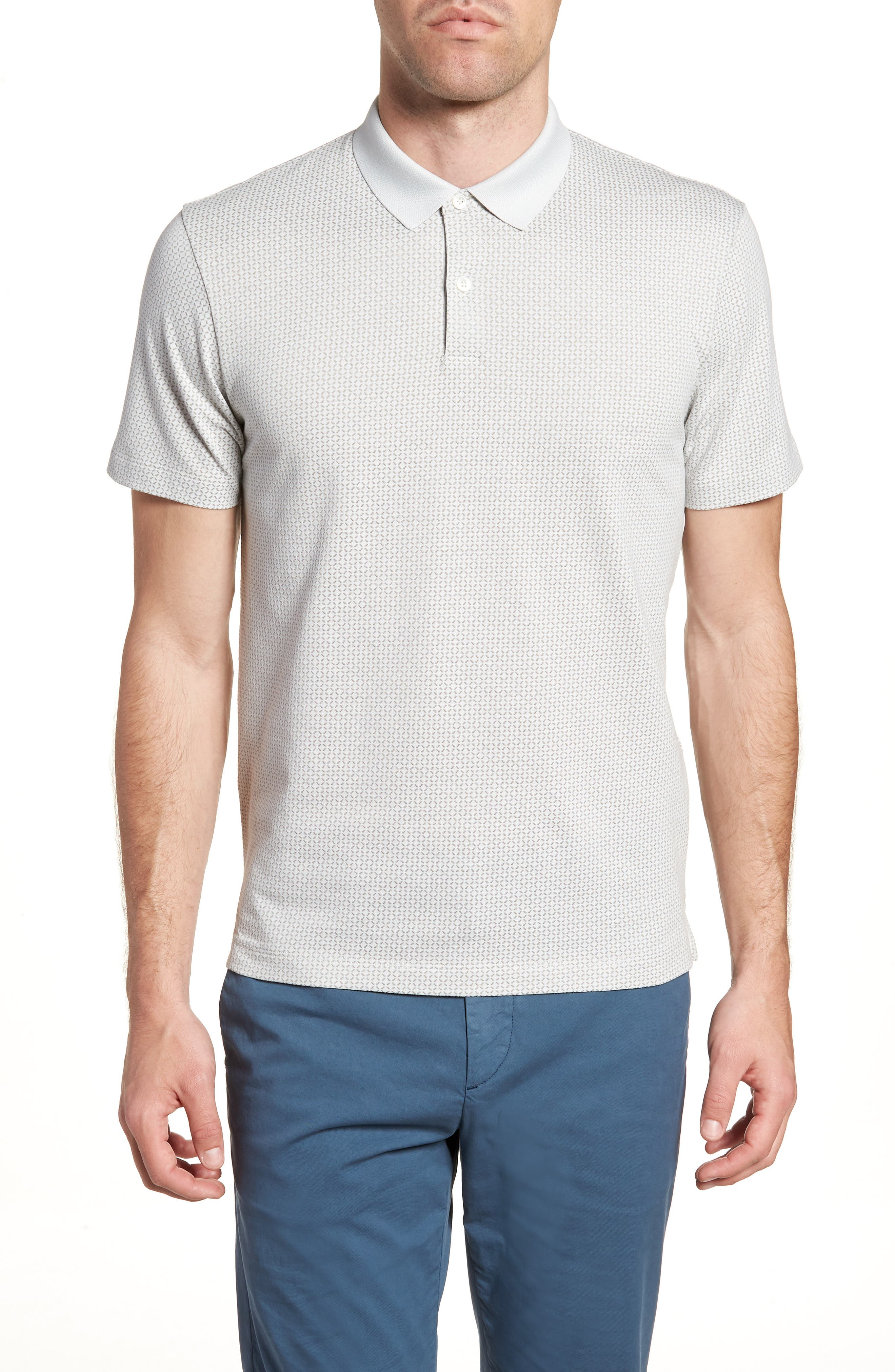 Sillar Slim Fit Polo,                         Main,                         color, GLAZE/ DIM