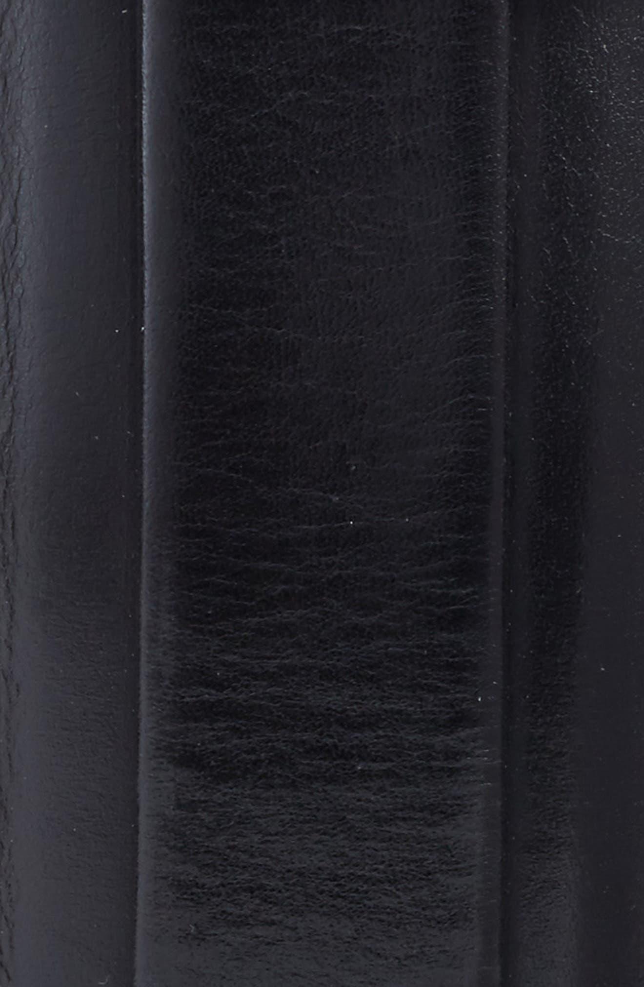 Parma Leather Belt,                             Alternate thumbnail 2, color,                             001