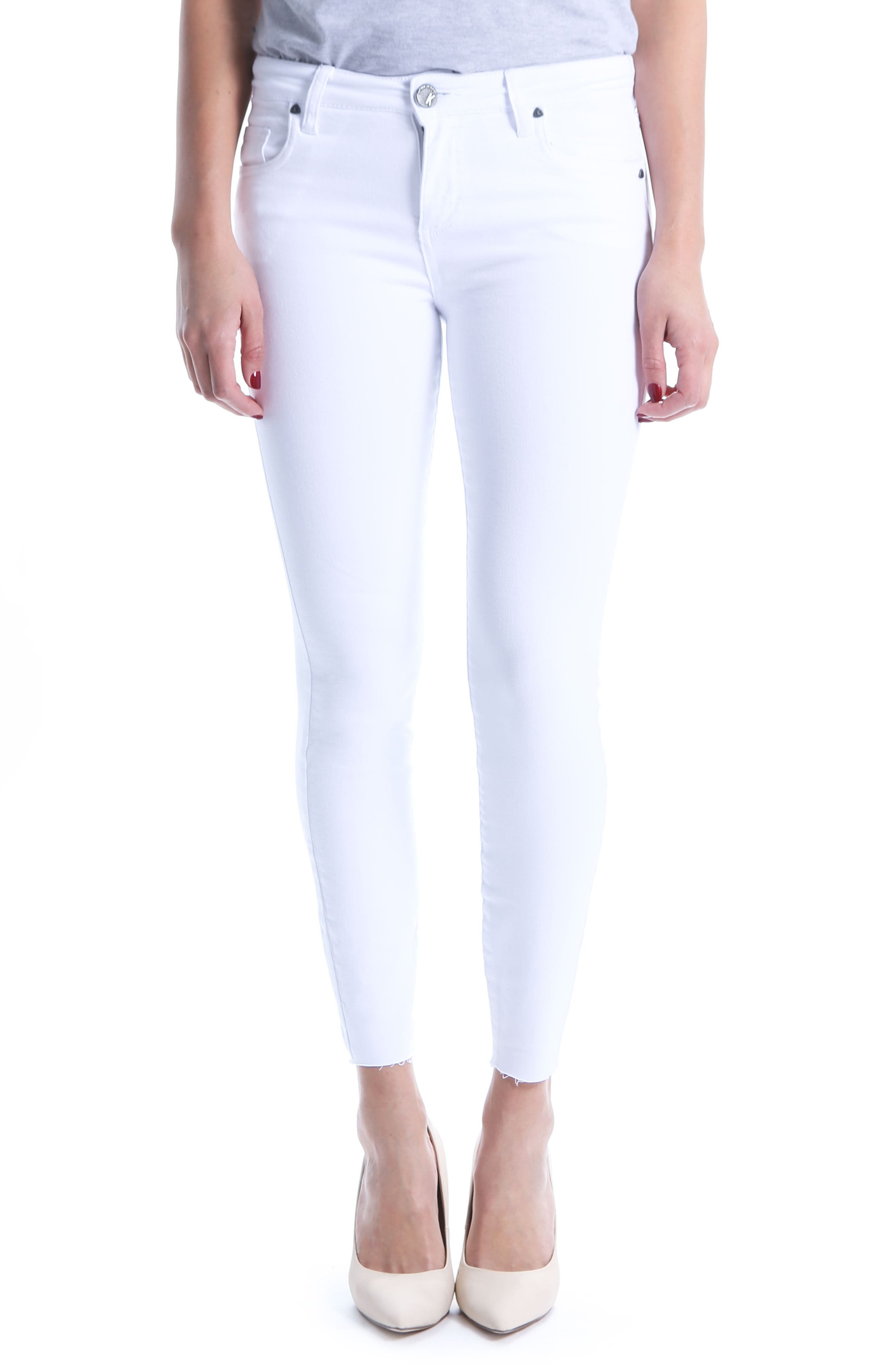 Donna Ankle Skinny Jeans,                             Main thumbnail 2, color,