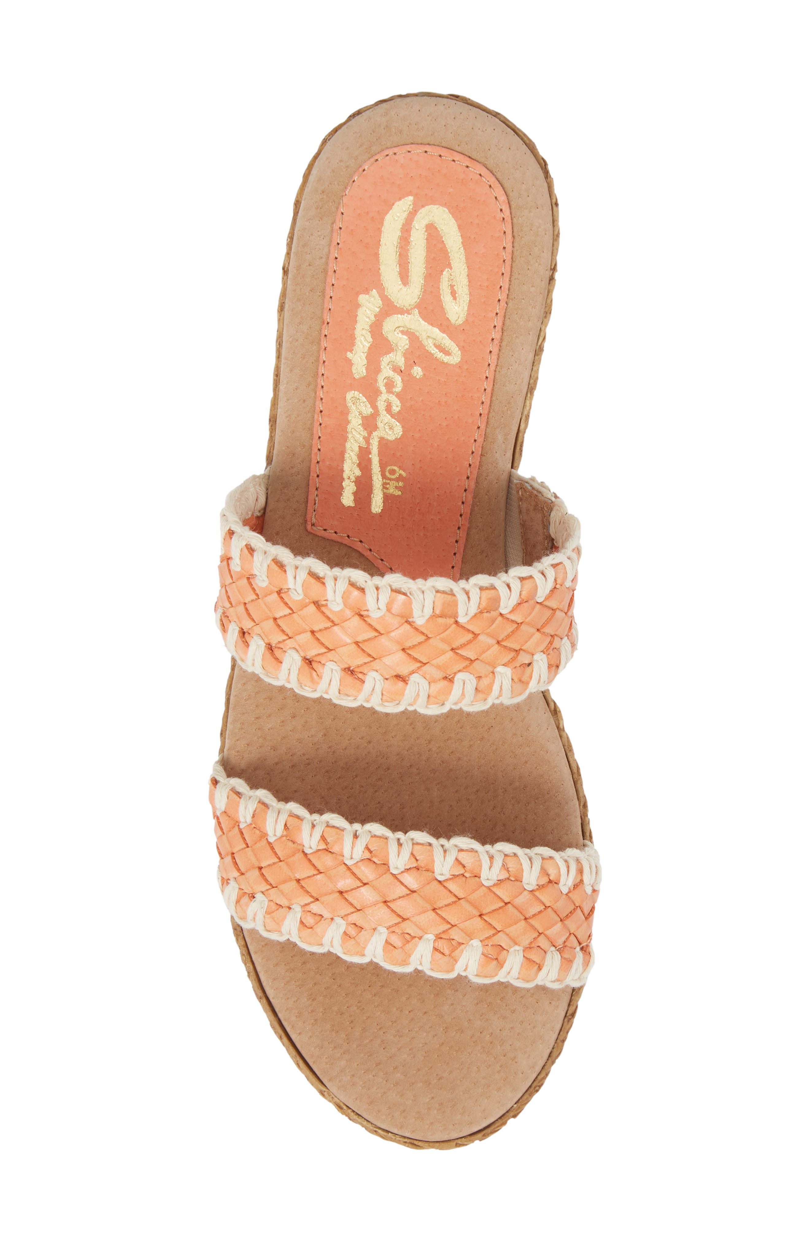SBICCA,                             Anette Slide Sandal,                             Alternate thumbnail 5, color,                             CORAL