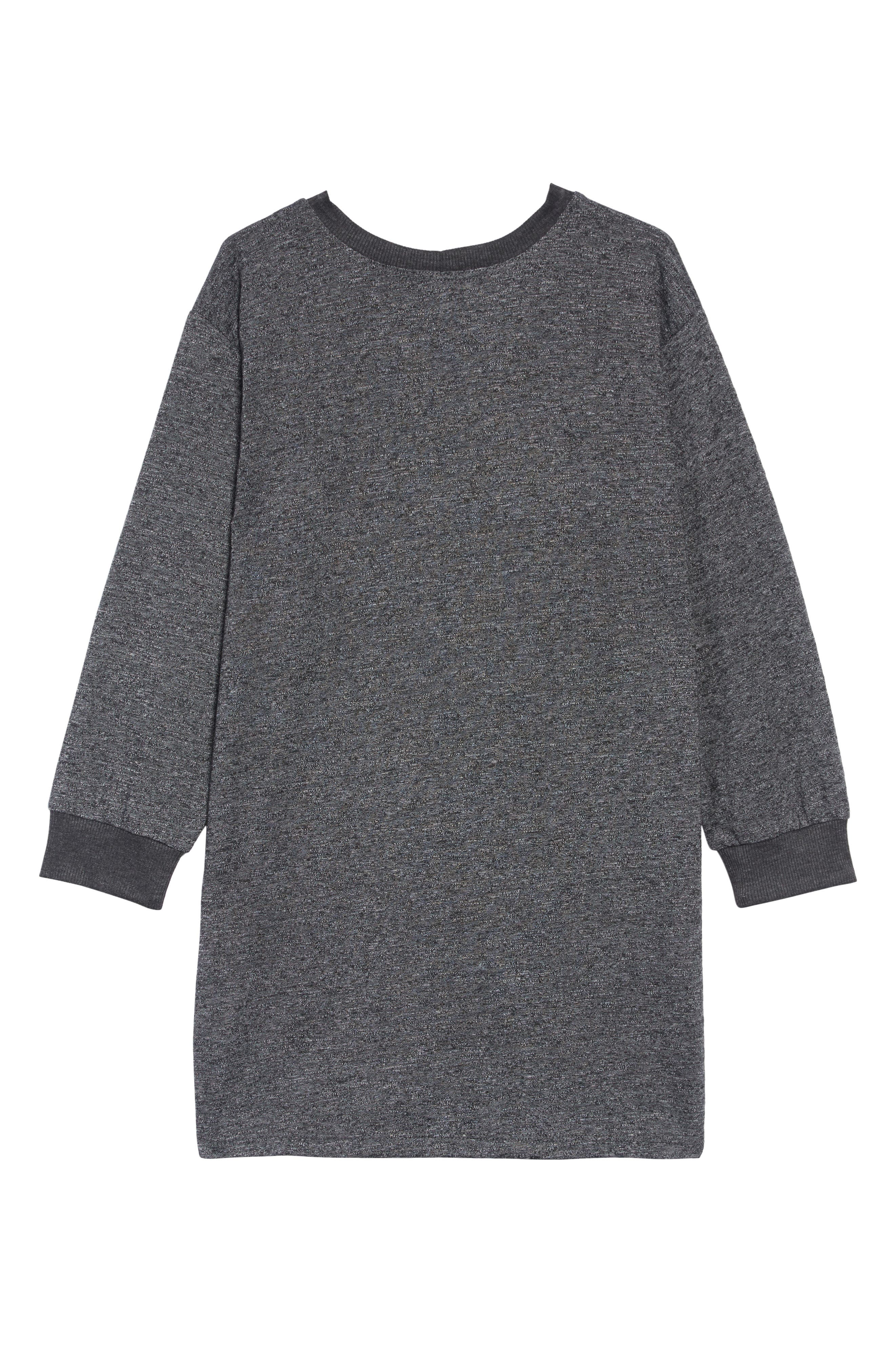 Cat with the Mask T-Shirt Dress,                             Alternate thumbnail 2, color,                             020