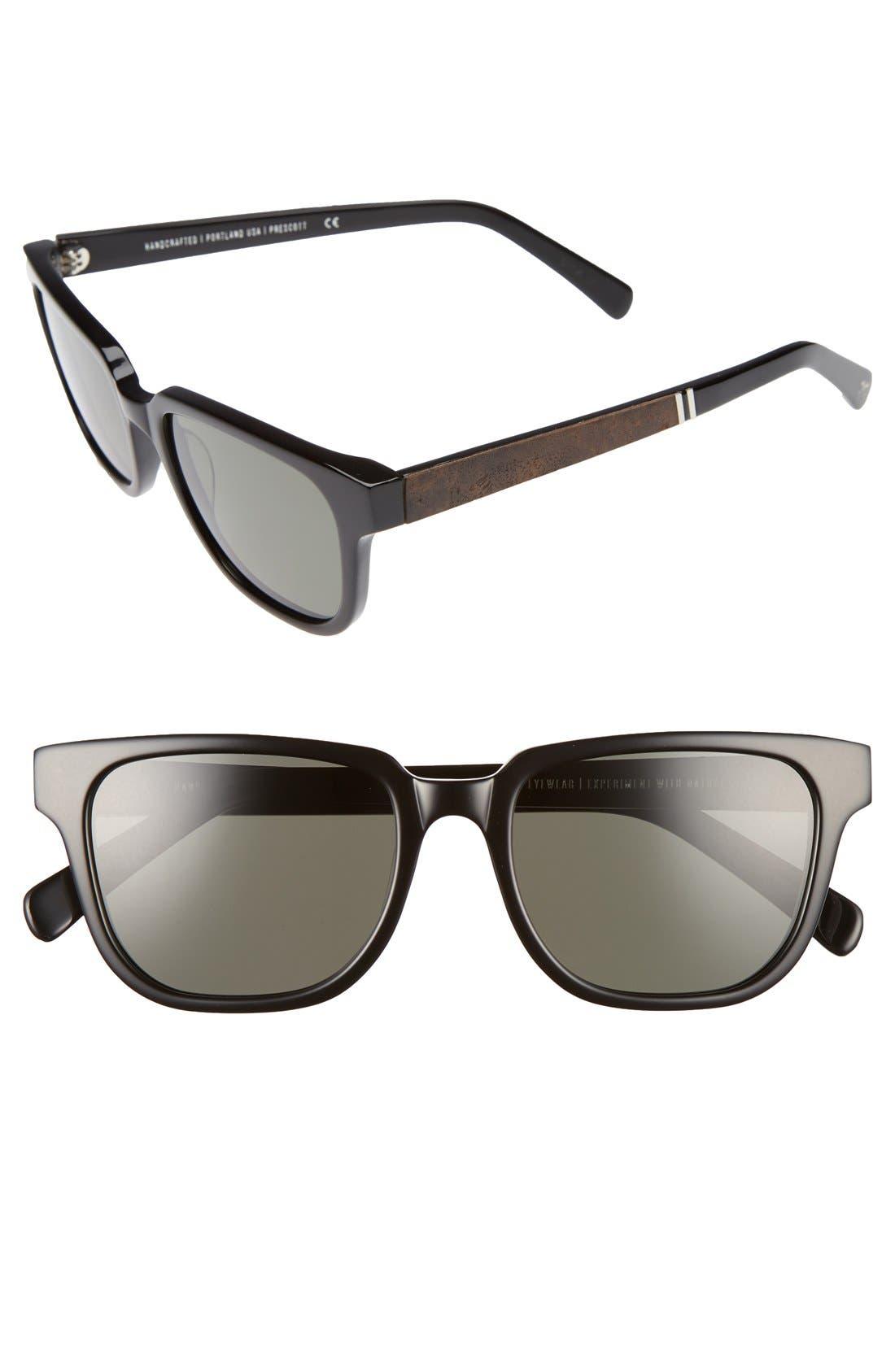'Prescott' 52mm Polarized Sunglasses,                             Alternate thumbnail 13, color,