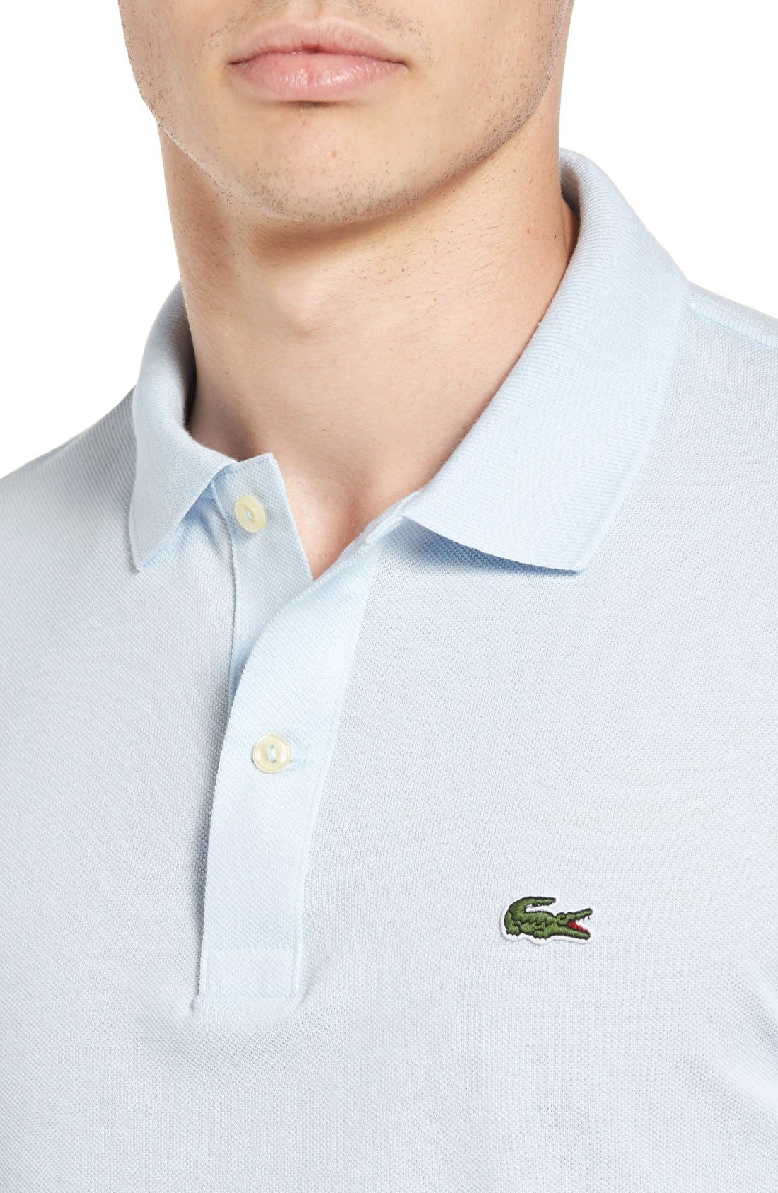 Slim Fit Piqué Polo,                             Alternate thumbnail 42, color,