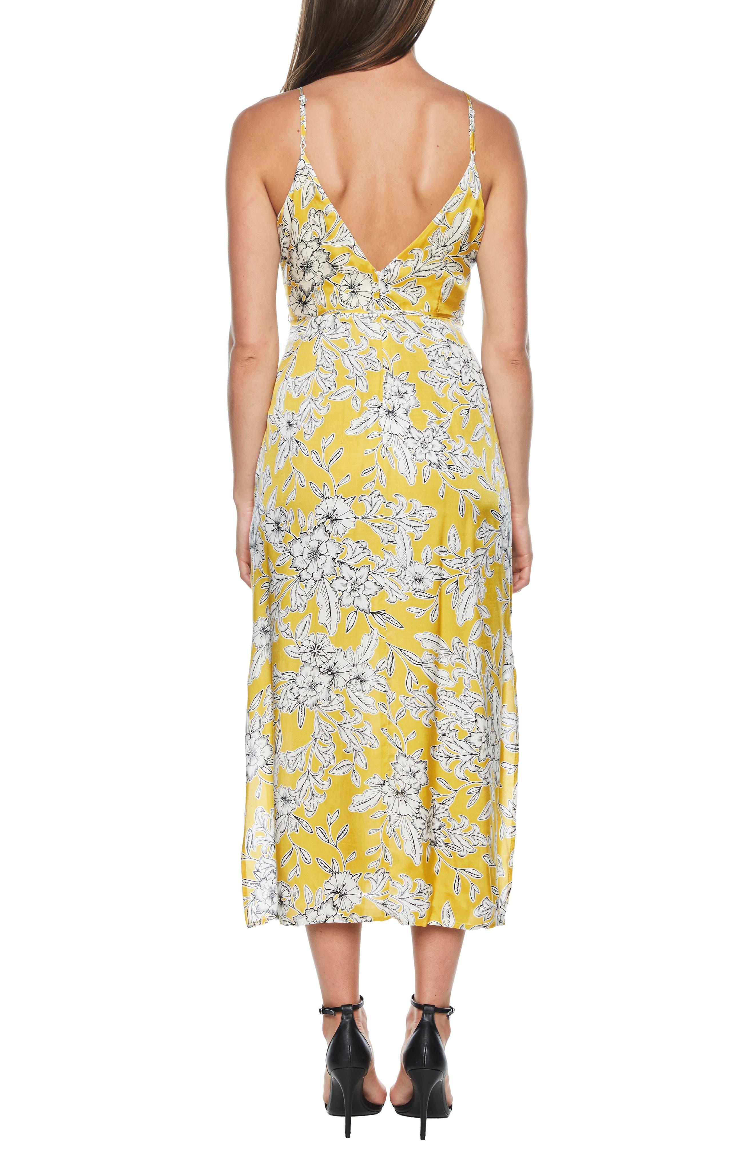 Karina Lace-Up Midi Dress,                             Alternate thumbnail 2, color,                             774