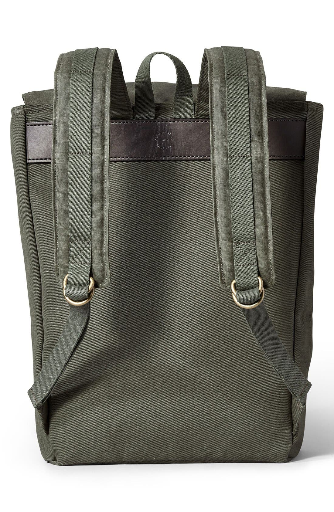 'Ranger' Canvas Backpack,                             Alternate thumbnail 6, color,