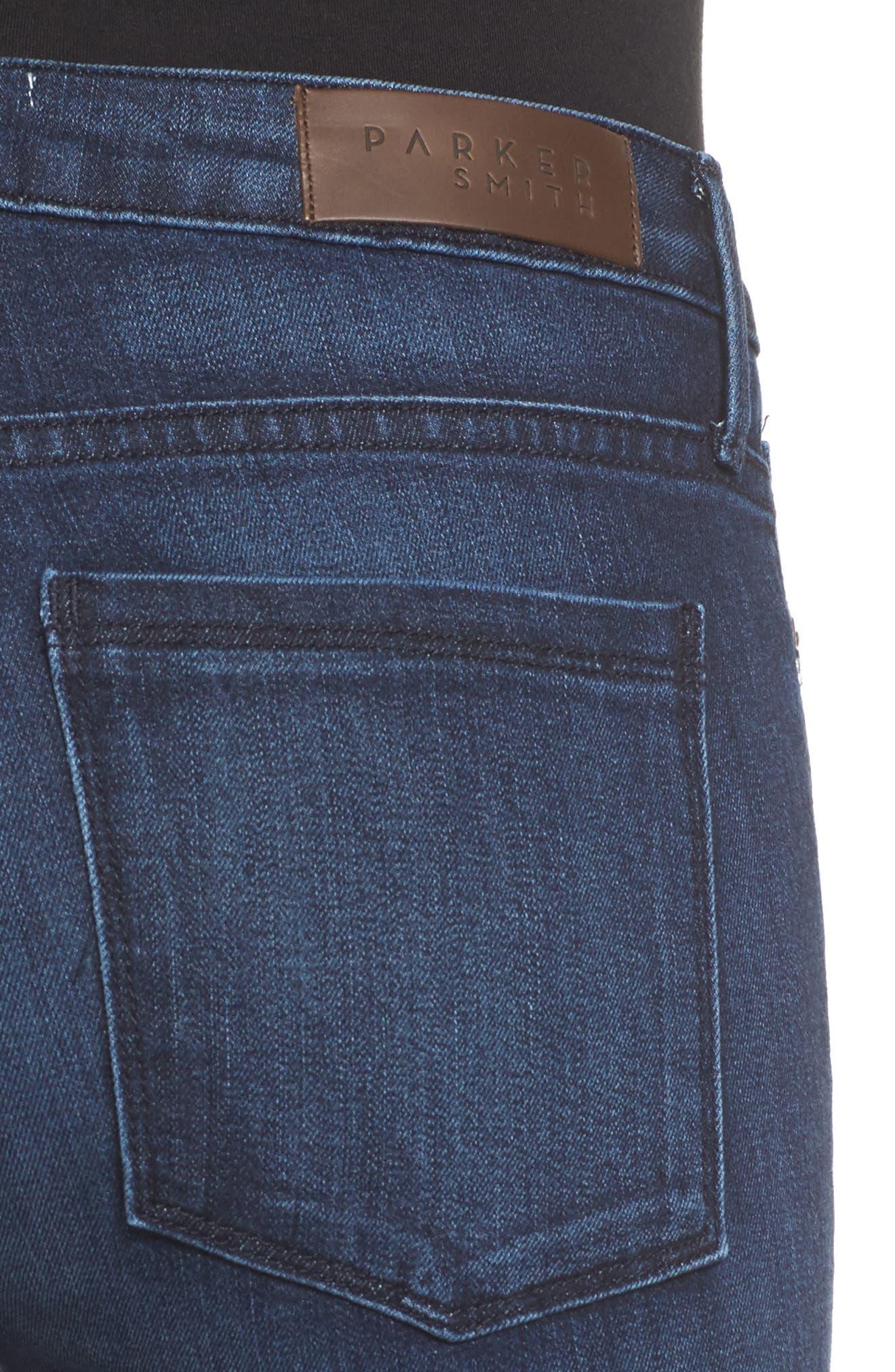Bombshell High Waist Stretch Skinny Jeans,                             Alternate thumbnail 12, color,