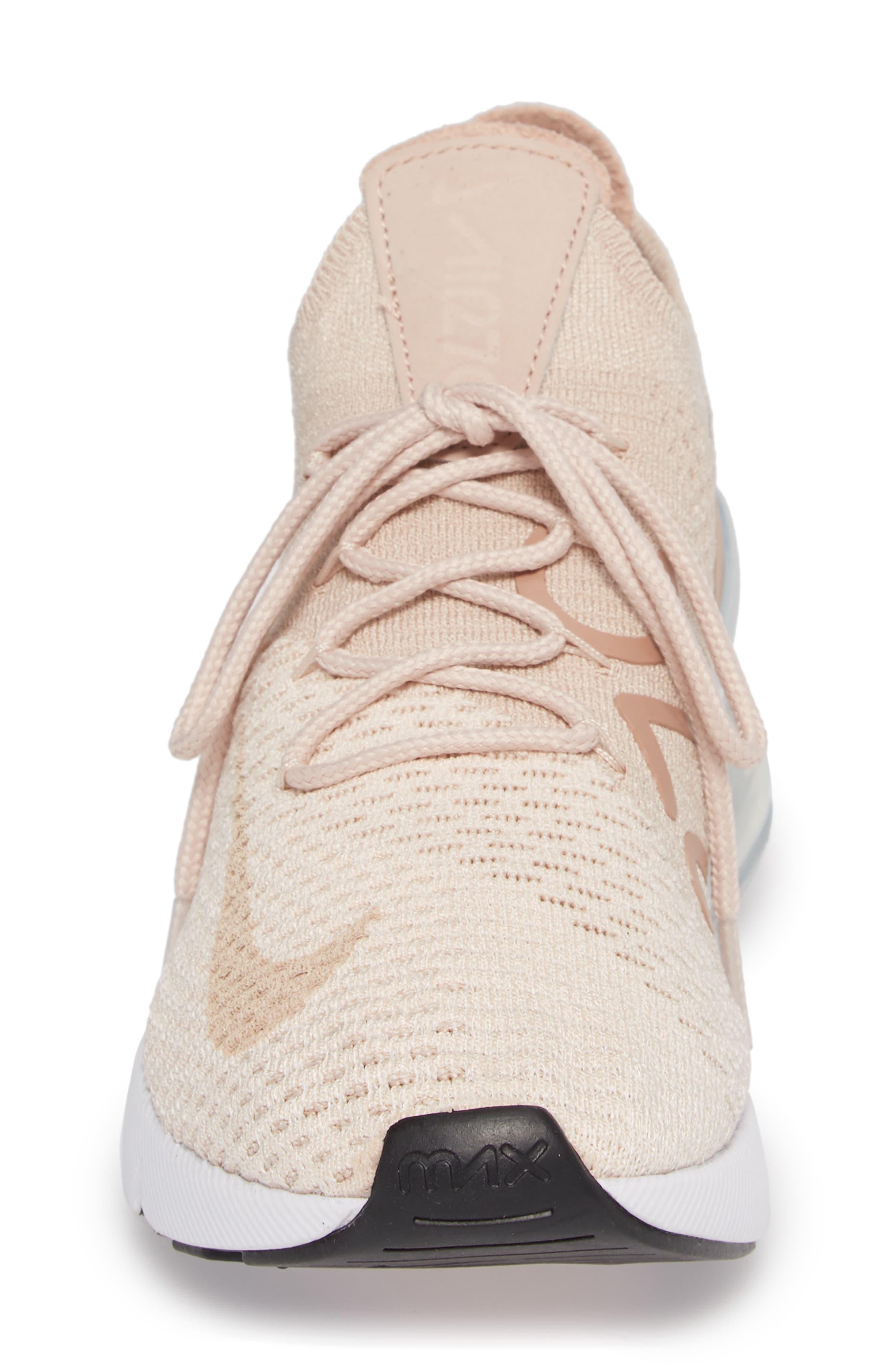 Air Max 270 Flyknit Sneaker,                             Alternate thumbnail 26, color,