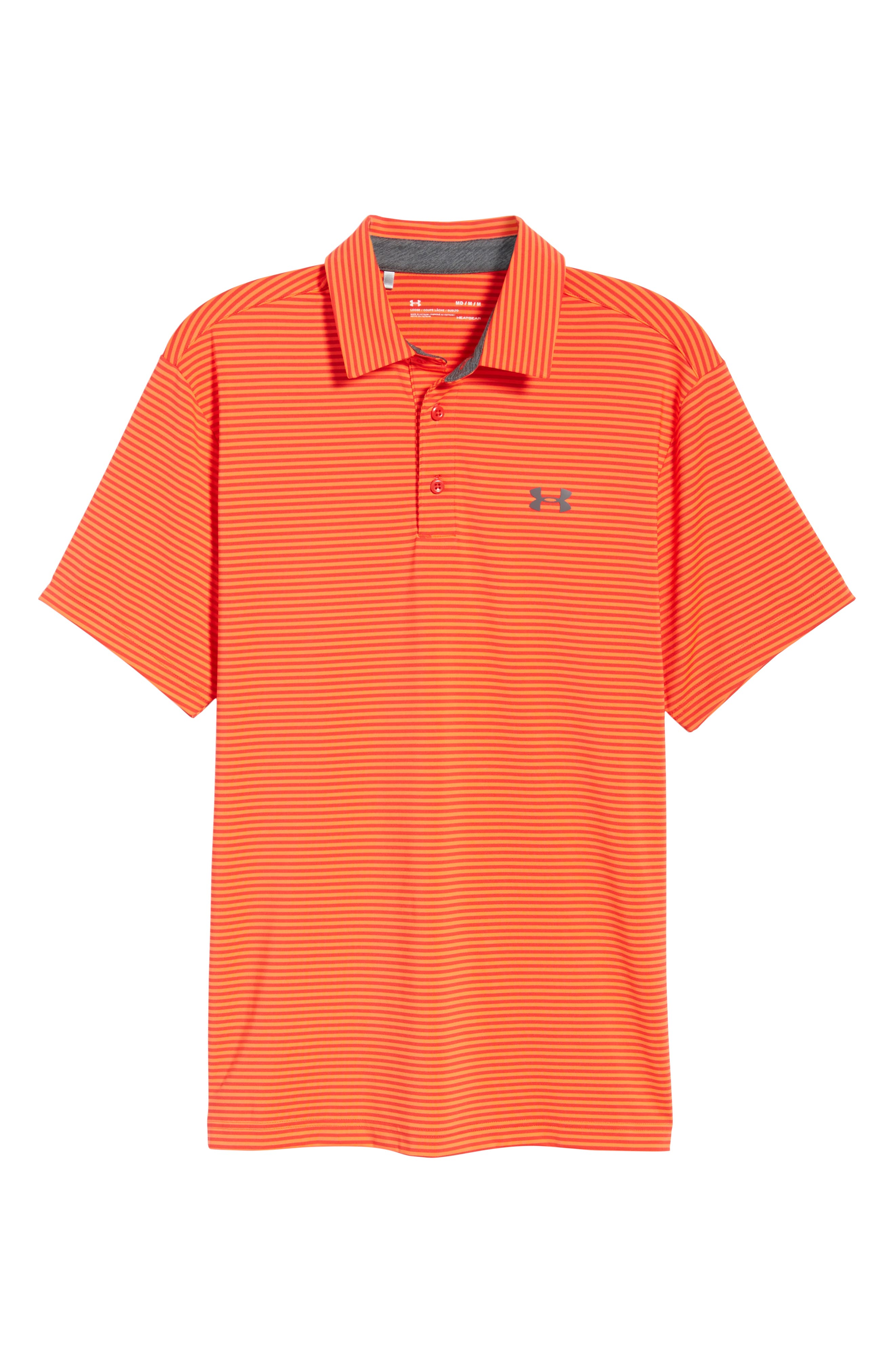 'Playoff' Loose Fit Short Sleeve Polo,                             Alternate thumbnail 296, color,