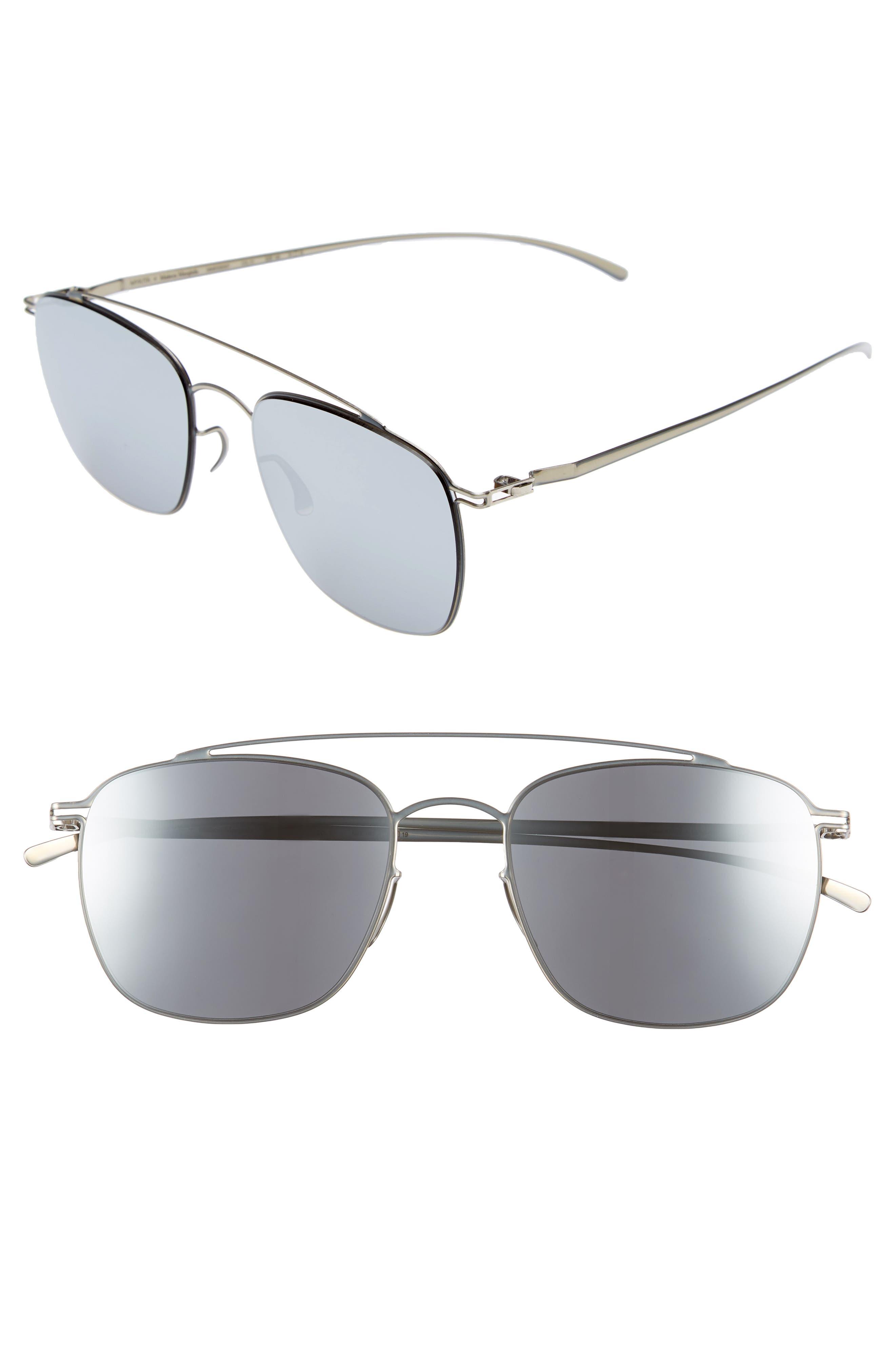 MMESSE007 51mm Aviator Sunglasses,                             Main thumbnail 2, color,