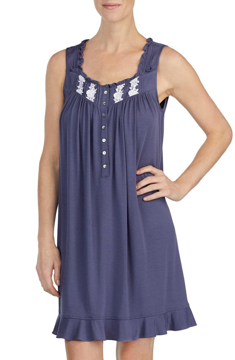 Eileen West EMBROIDERED CHEMISE