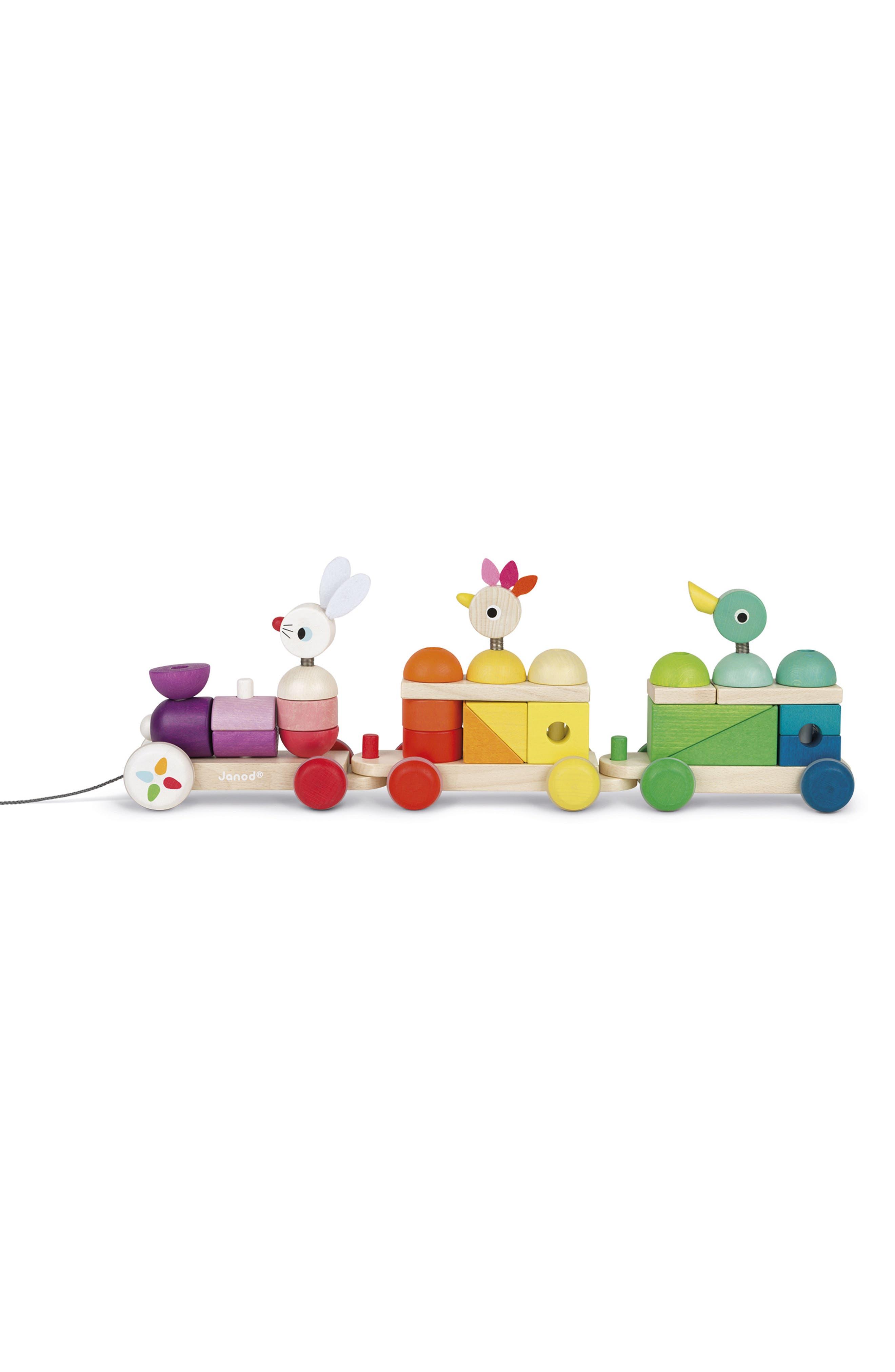 Zigolos 28-Piece Linking Train Set,                         Main,                         color, 600