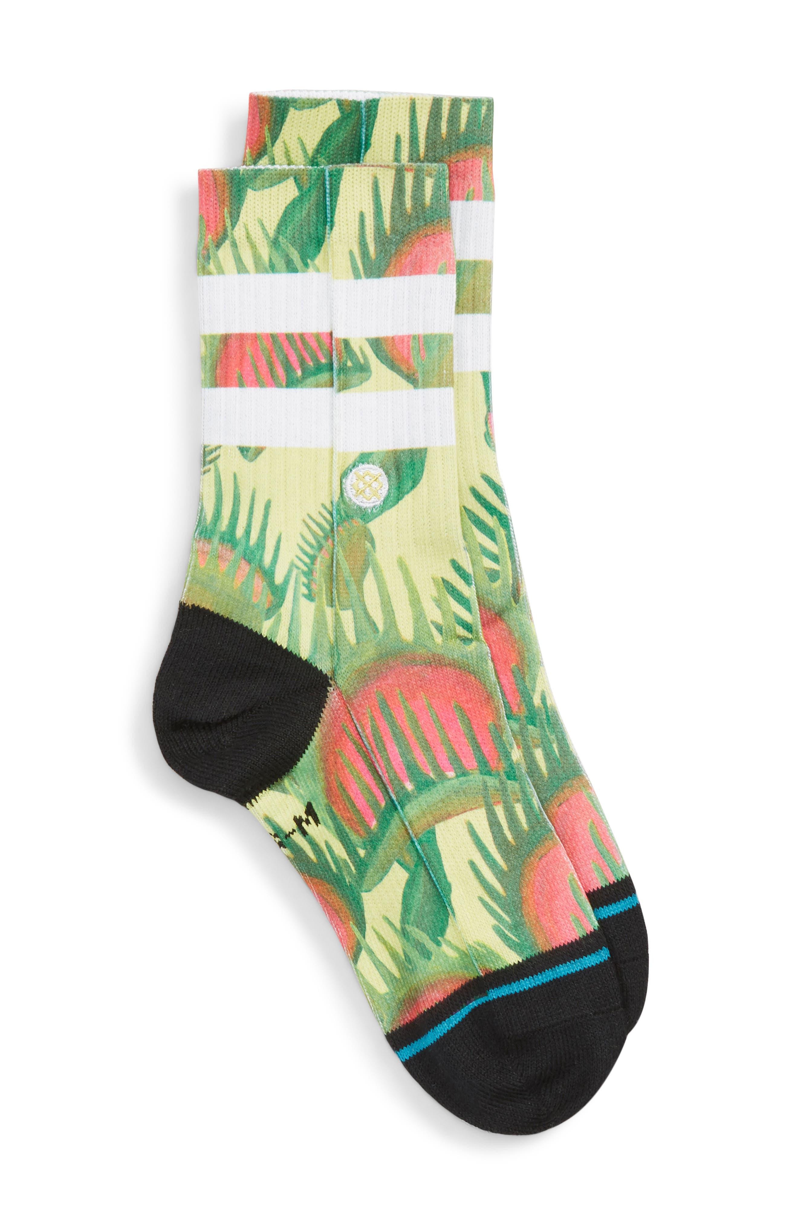Trap King Socks,                             Main thumbnail 1, color,                             001