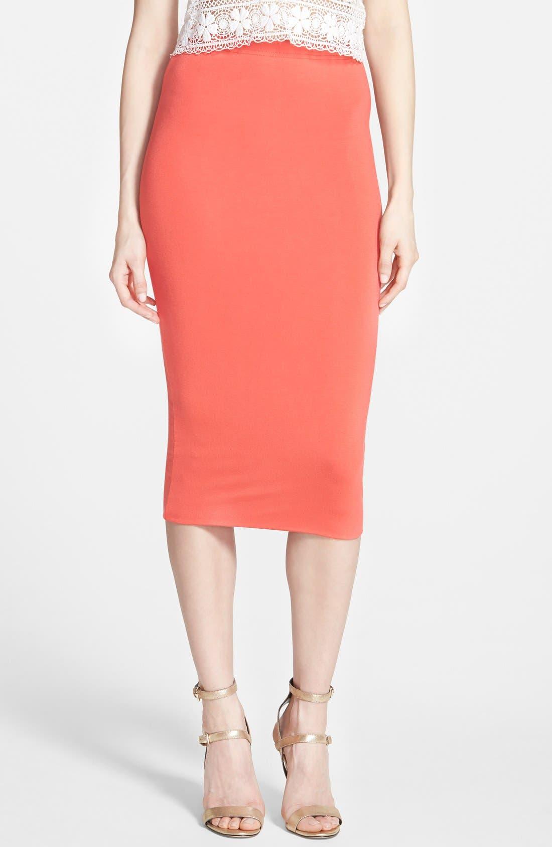 Double Layered Tube Skirt,                             Main thumbnail 9, color,