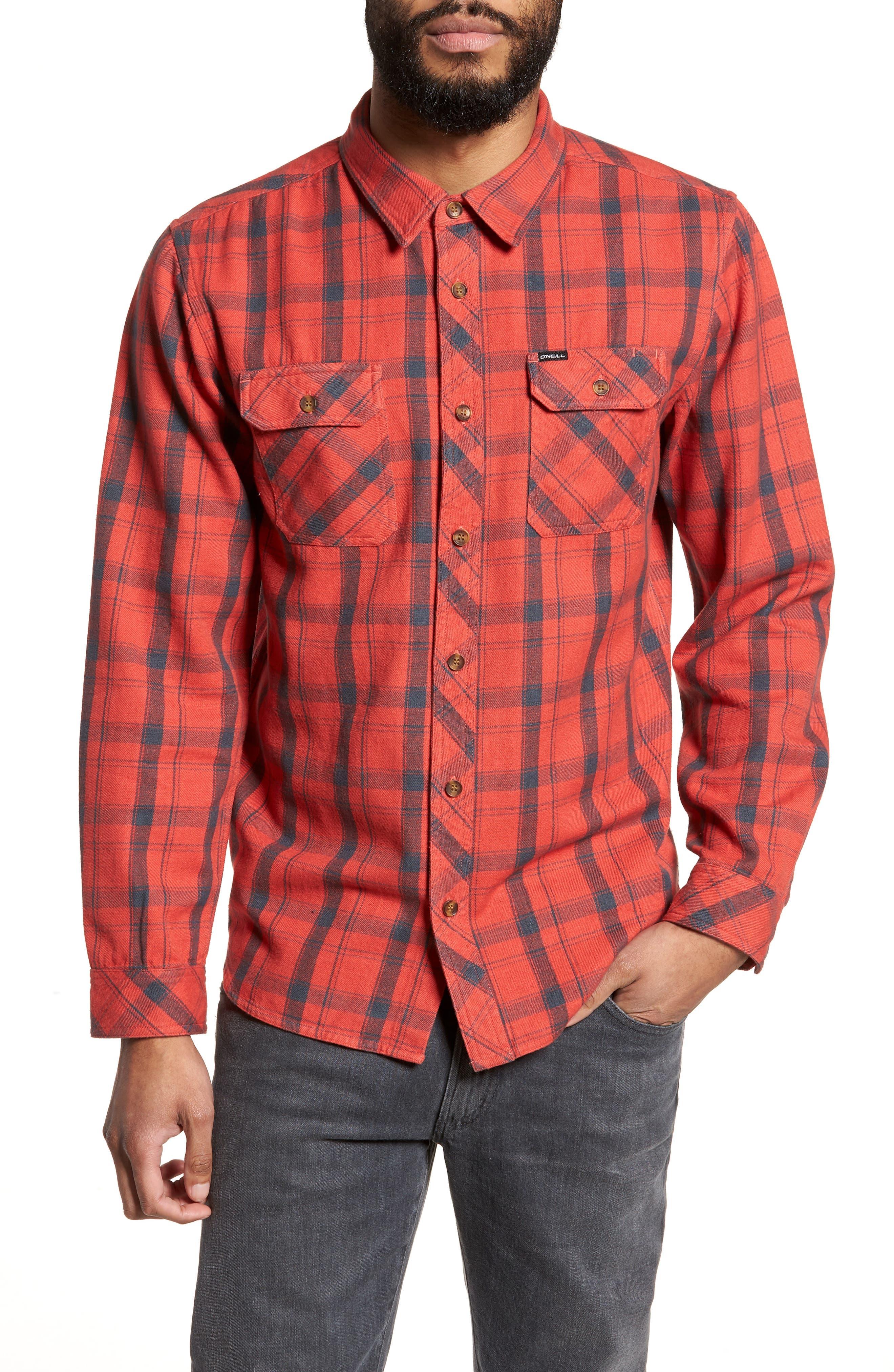 Carpenter Flannel Shirt,                             Main thumbnail 2, color,