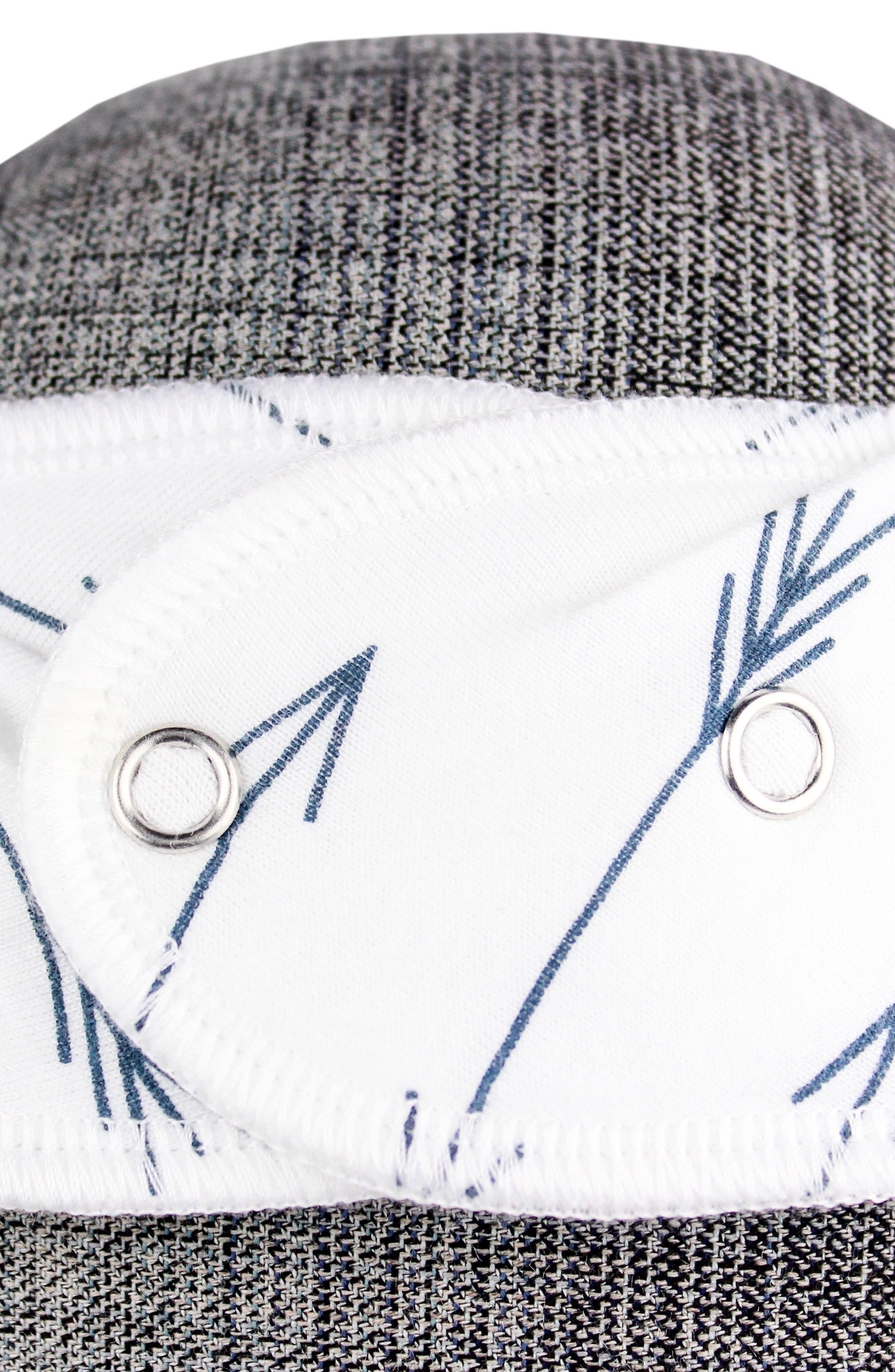 Archer Bib, Burp Cloth & Swaddle Blanket Gift Set,                             Alternate thumbnail 3, color,                             400