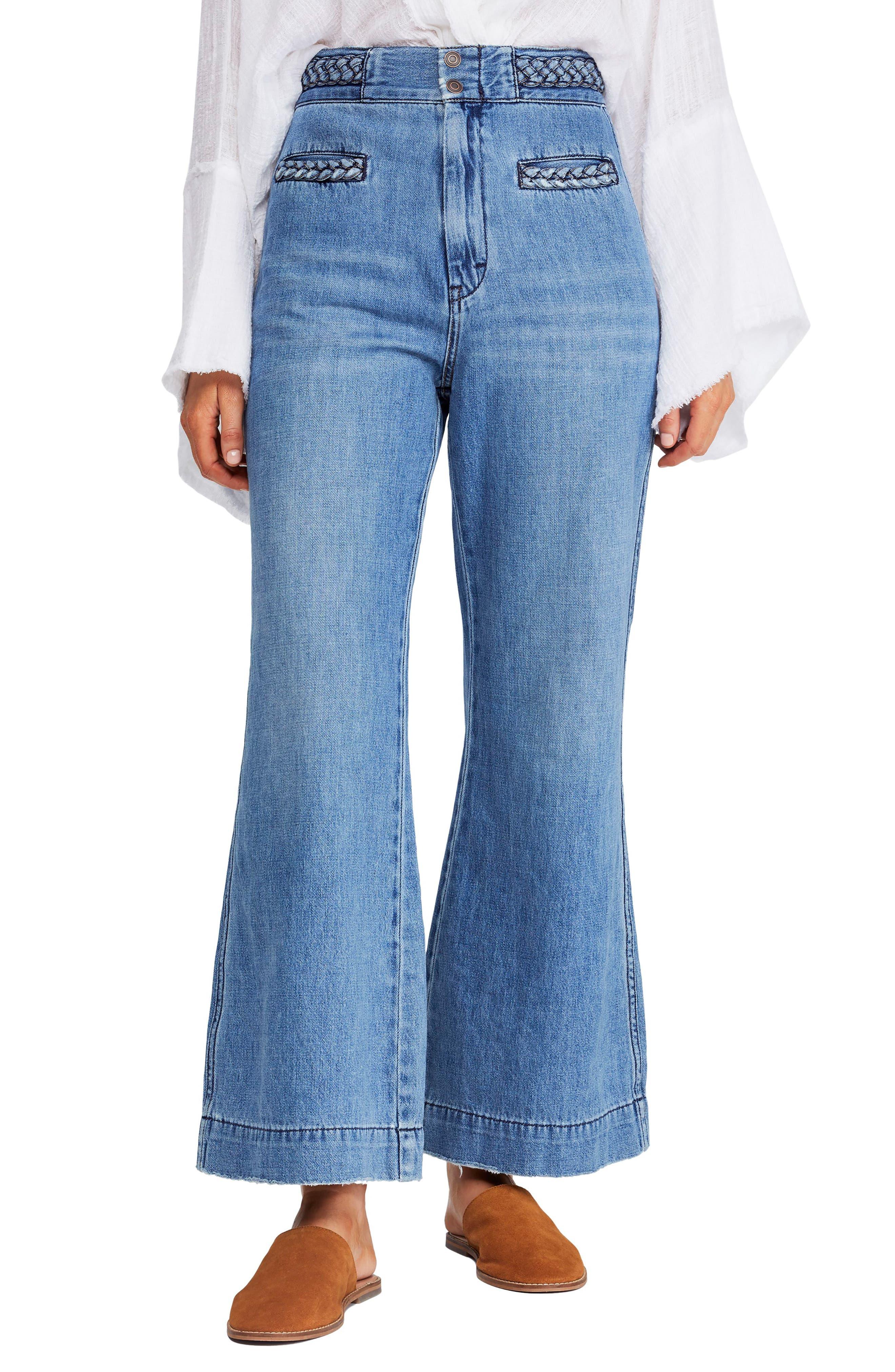 Season in the Sun Jeans, Main, color, SKY