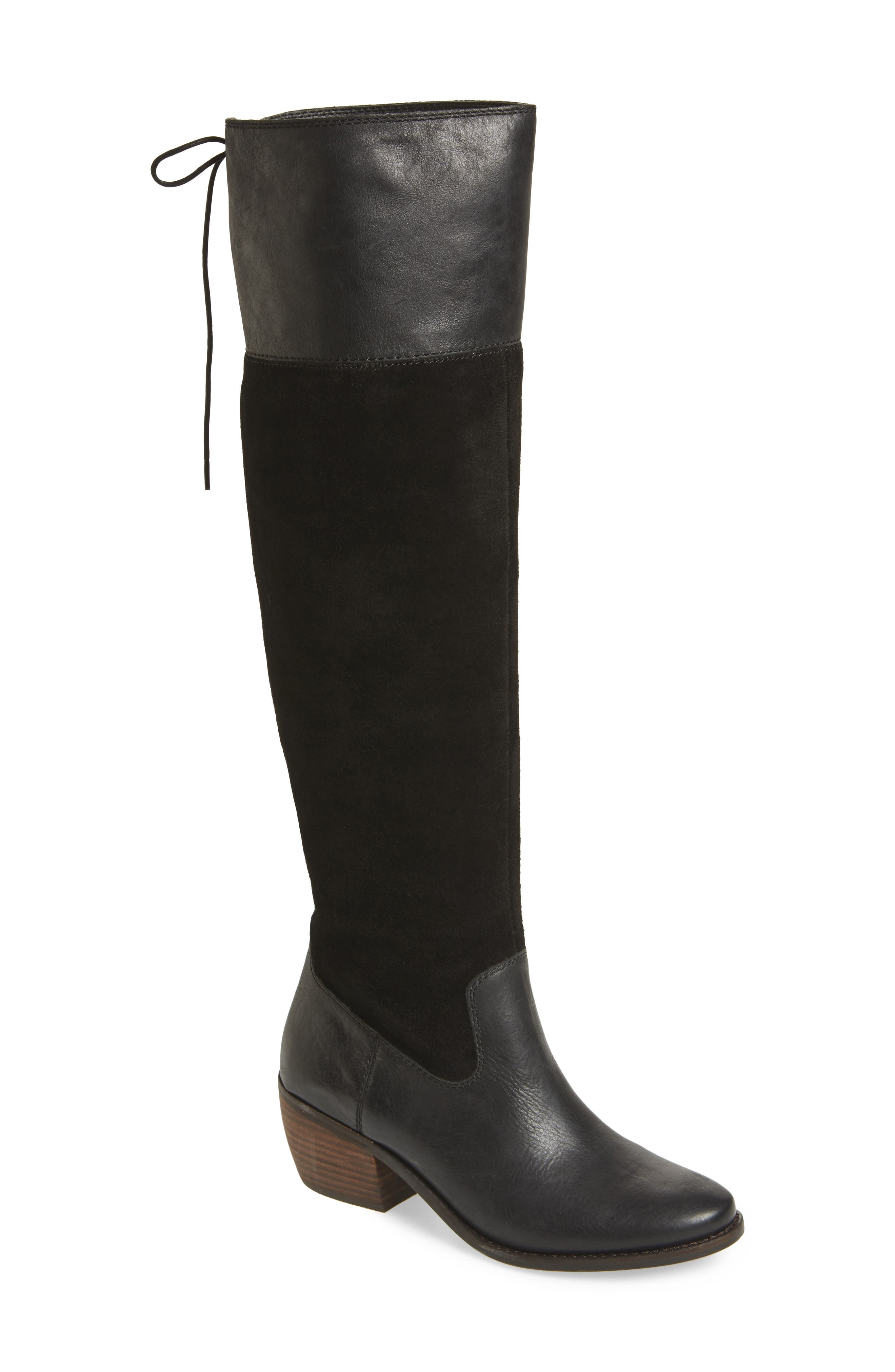Komah Over the Knee Boot,                             Main thumbnail 1, color,                             001
