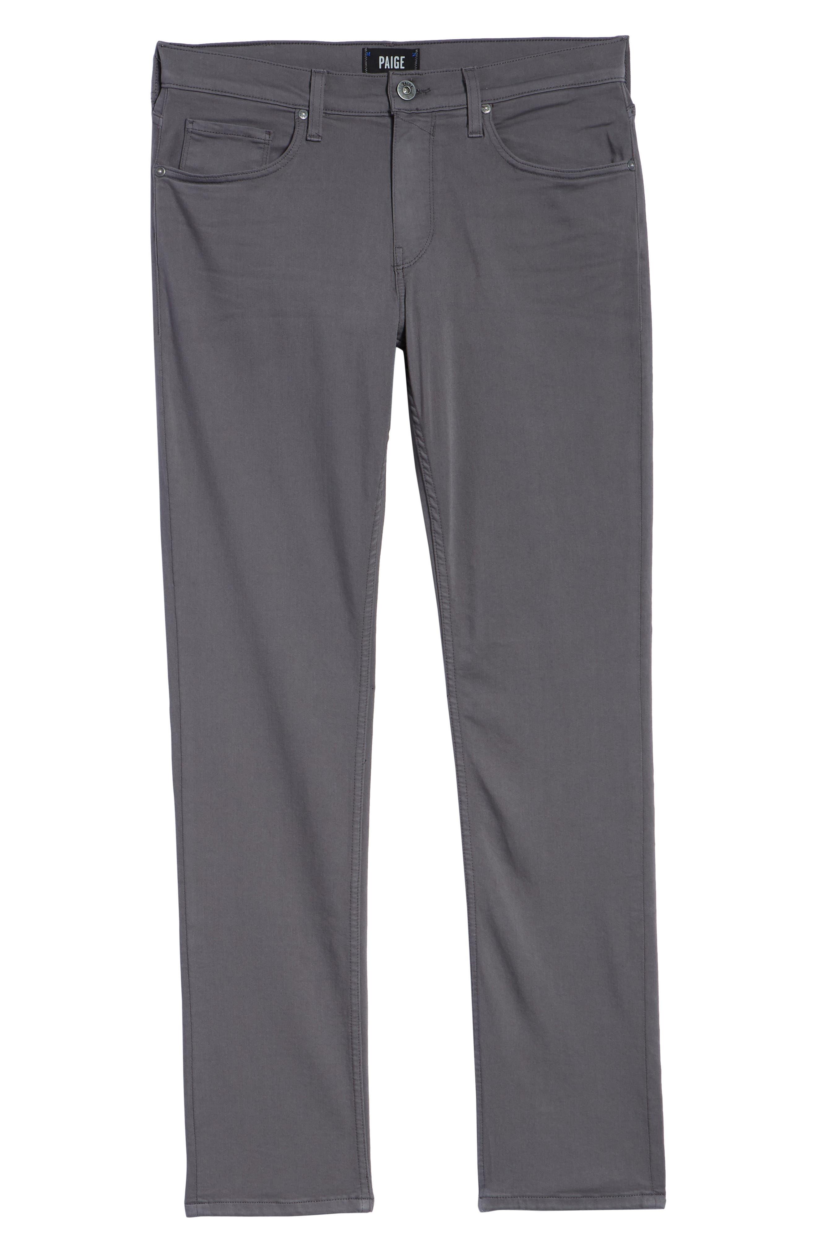 Transcend - Federal Slim Straight Leg Jeans,                             Alternate thumbnail 6, color,                             030