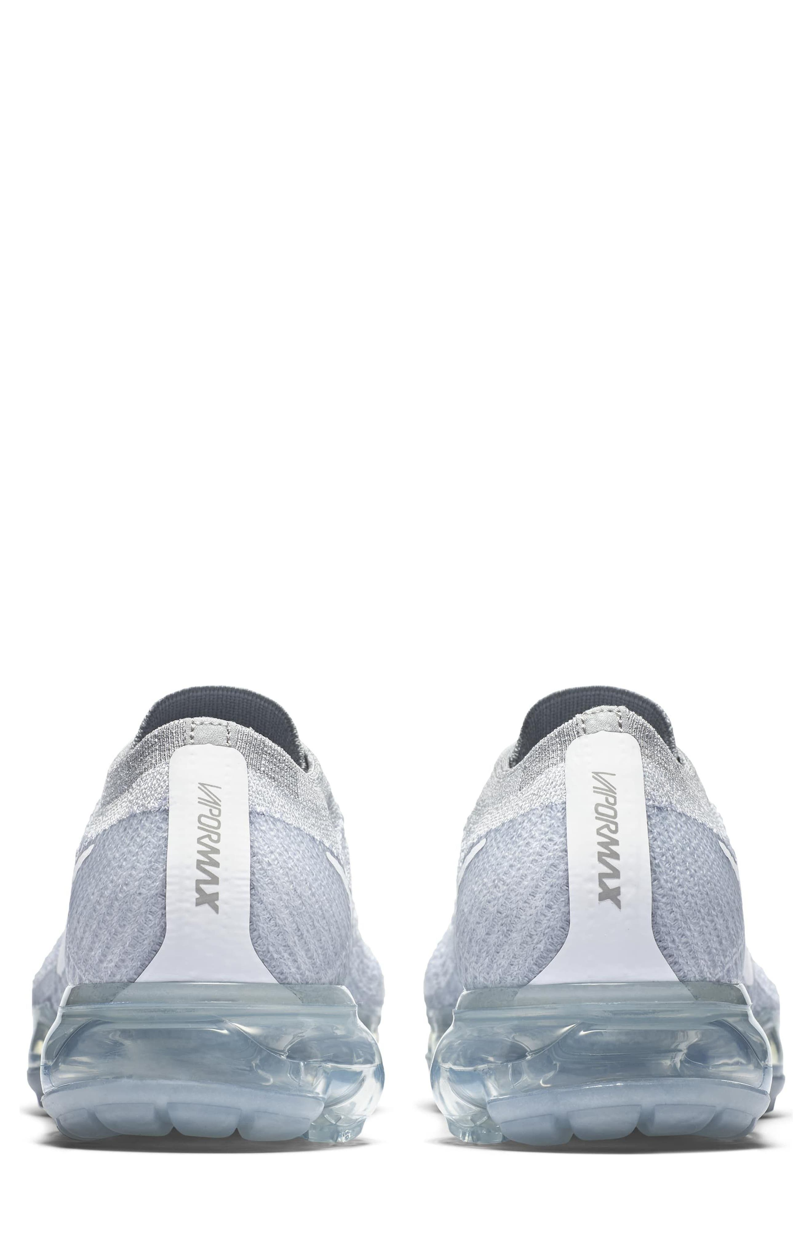 Air VaporMax Flyknit Running Shoe,                             Alternate thumbnail 2, color,                             020