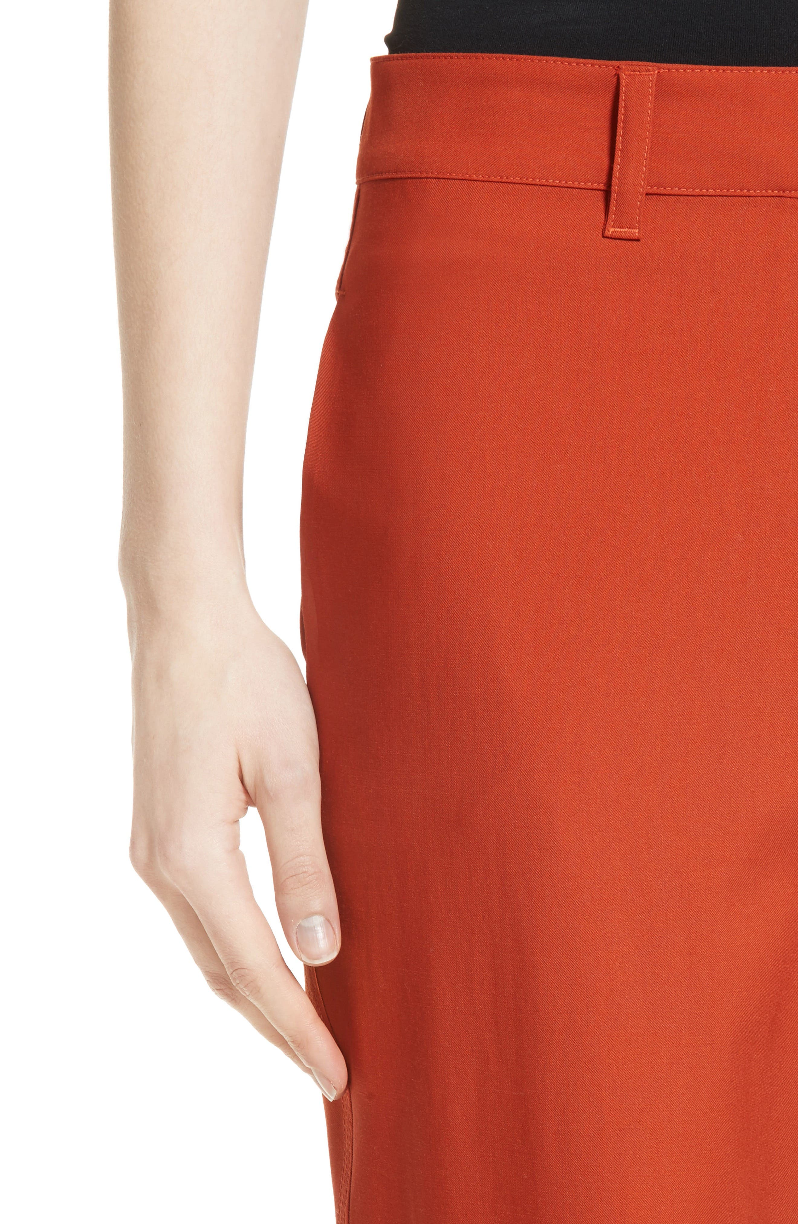 Thorelle B New Stretch Wool Pants,                             Alternate thumbnail 4, color,                             837