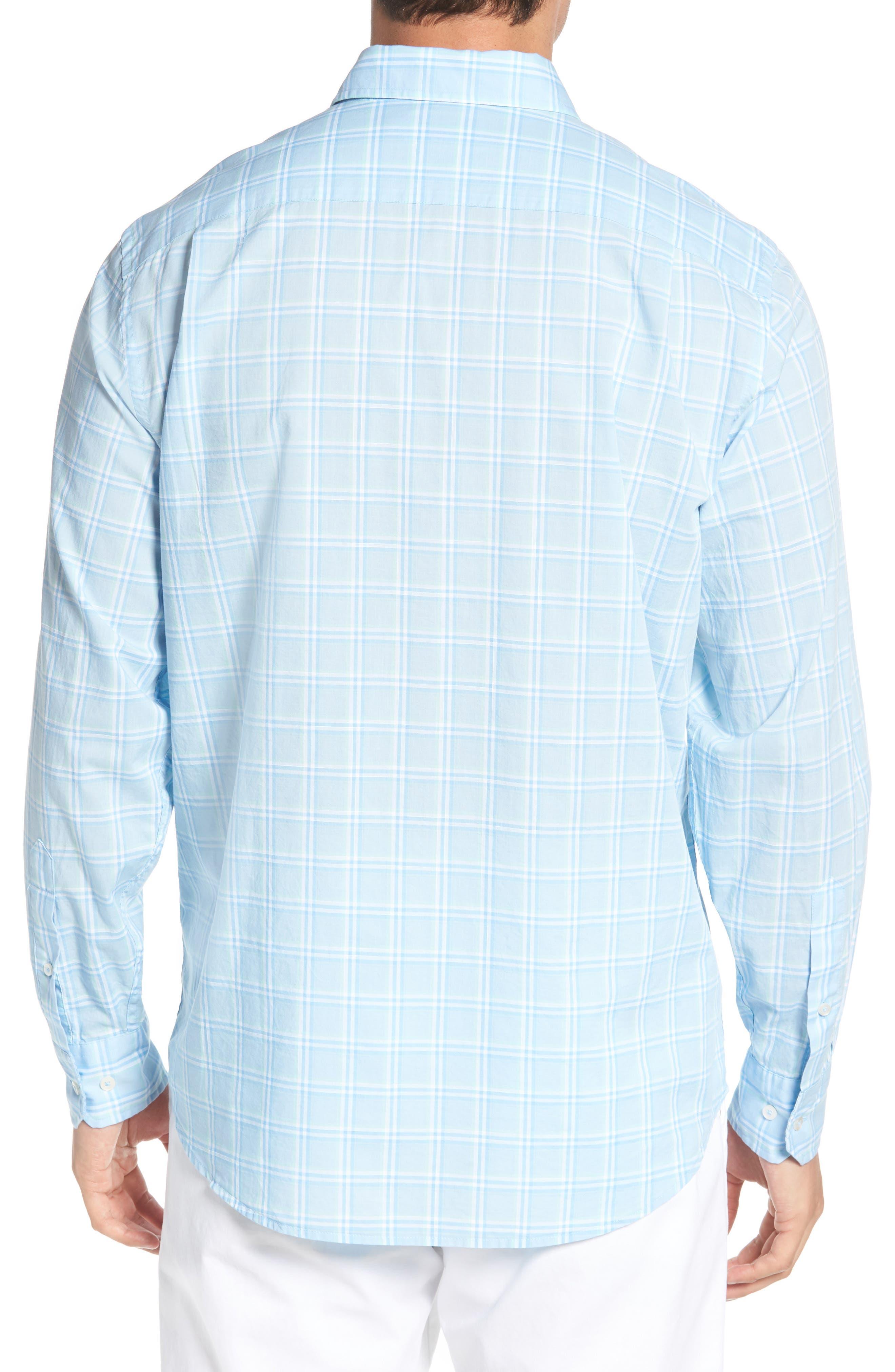 Roadstead Regular Fit Plaid Sport Shirt,                             Alternate thumbnail 2, color,                             450