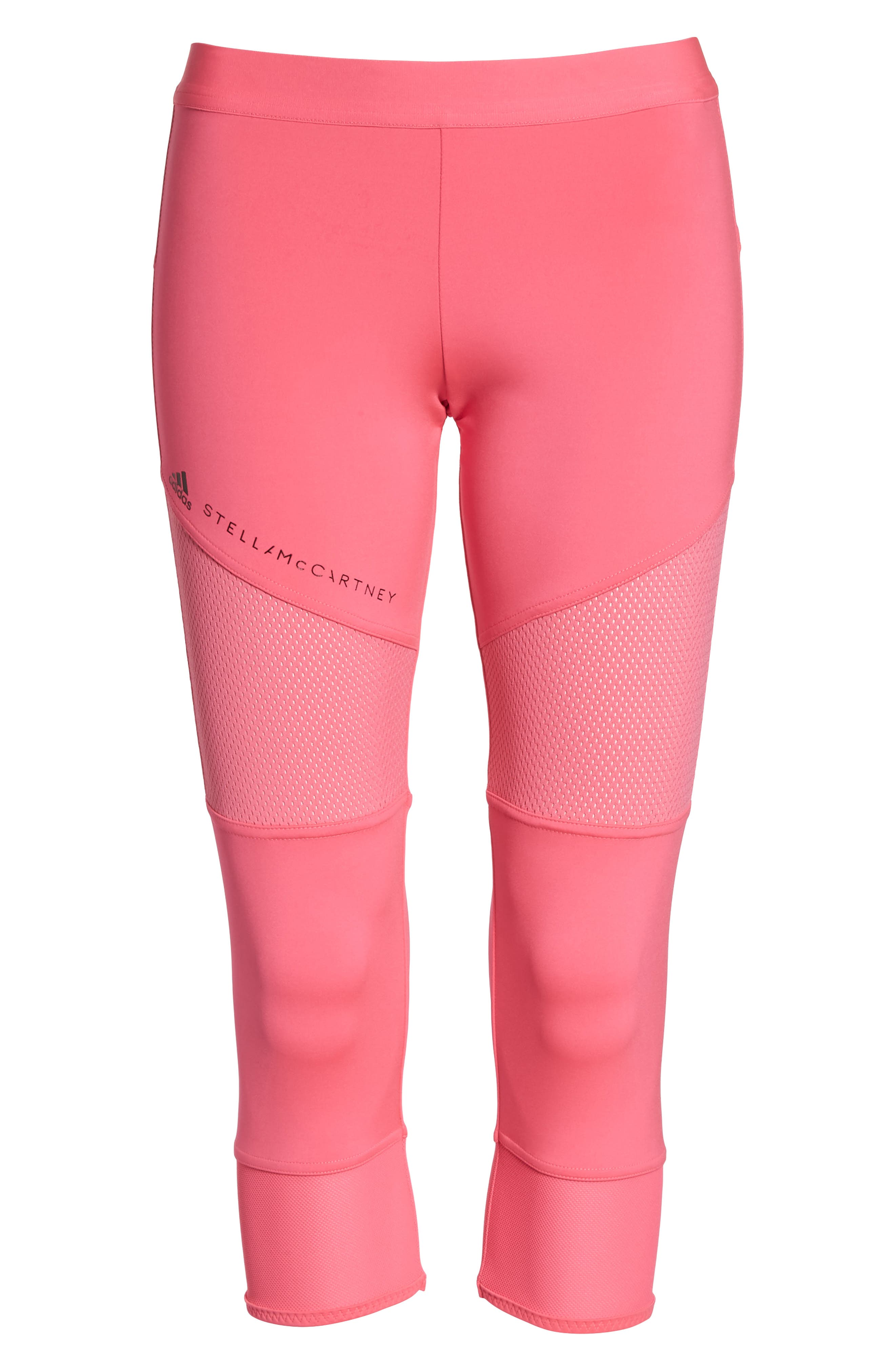 Performance Essentials Crop Leggings,                             Alternate thumbnail 7, color,                             SOLAR PINK