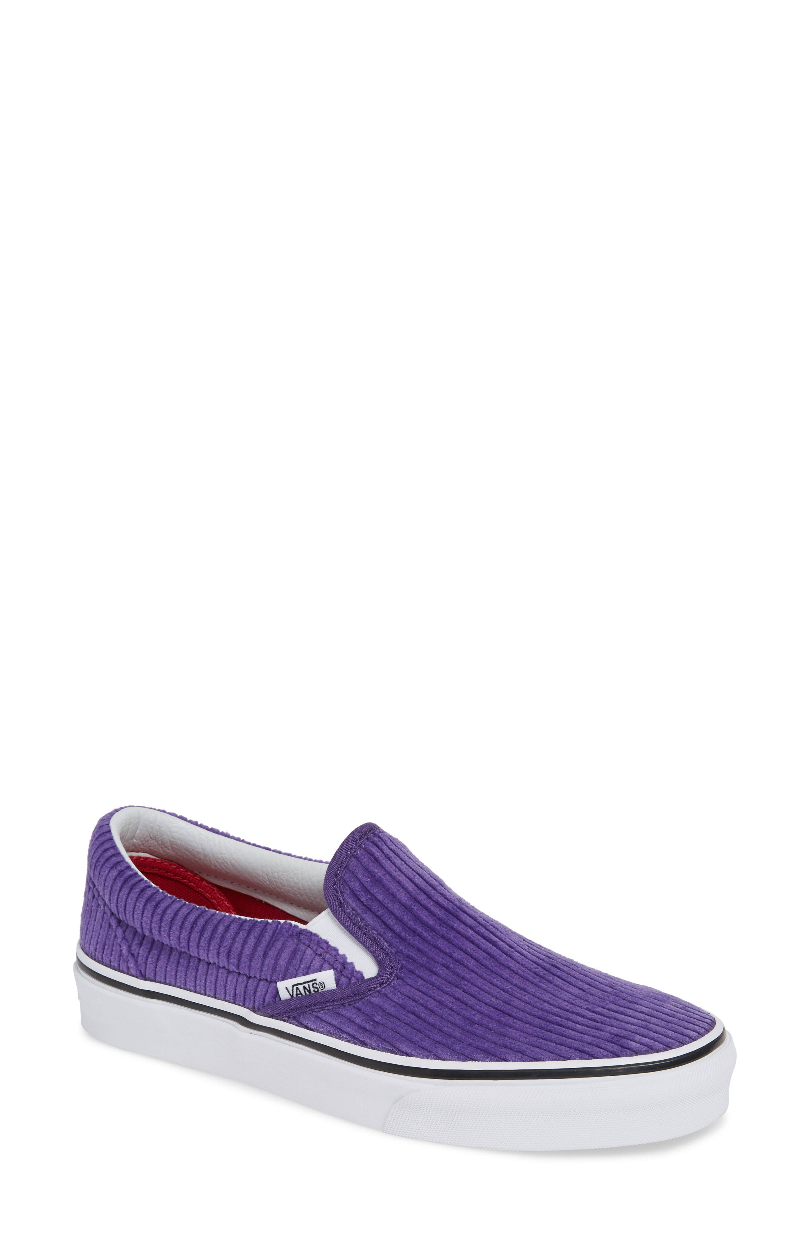 Classic Design Assembly Slip-On Sneaker,                         Main,                         color, HELIOTROPE/ TRUE WHITE