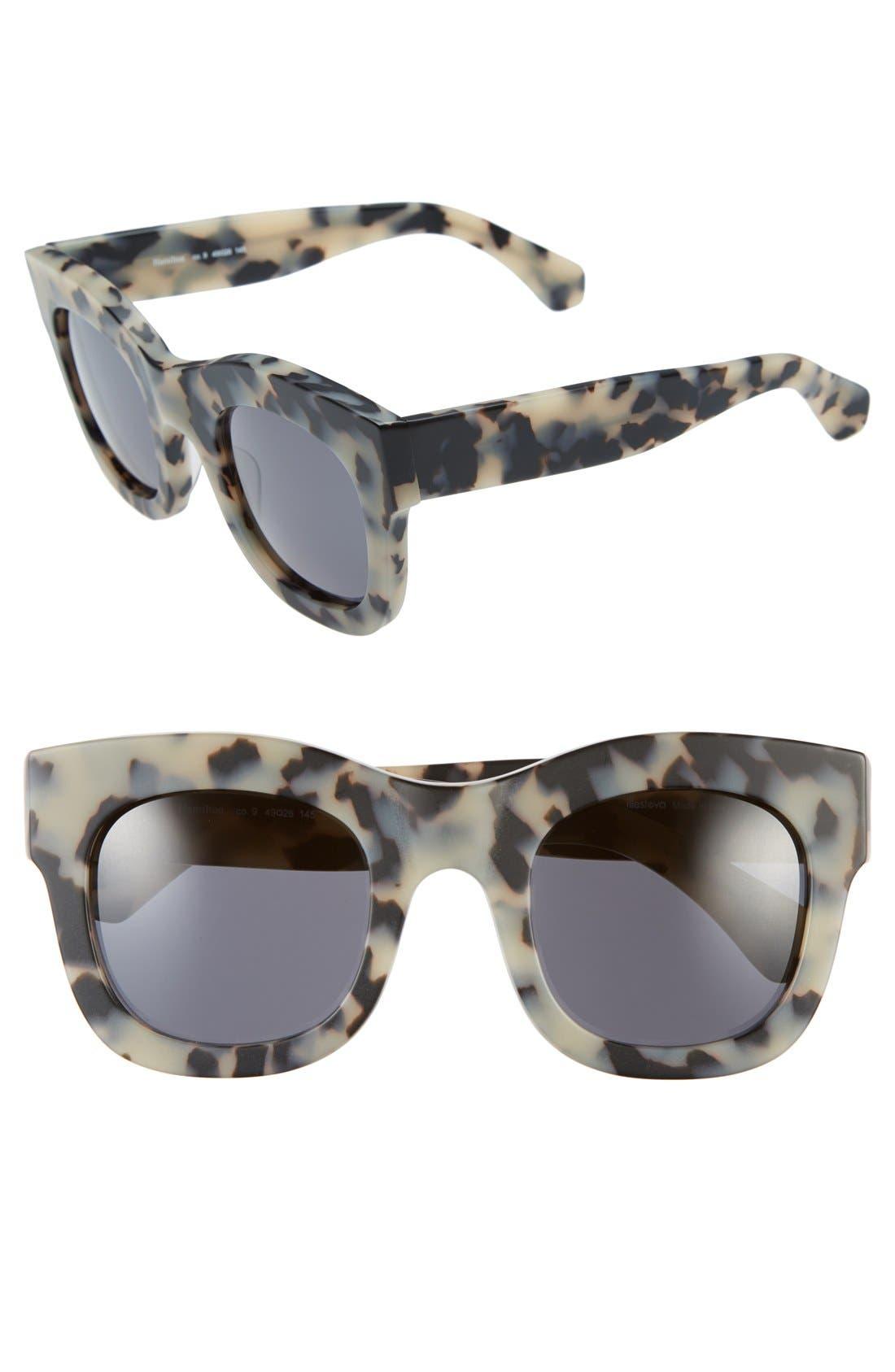 'Hamilton' 49mm Retro Sunglasses,                             Main thumbnail 5, color,