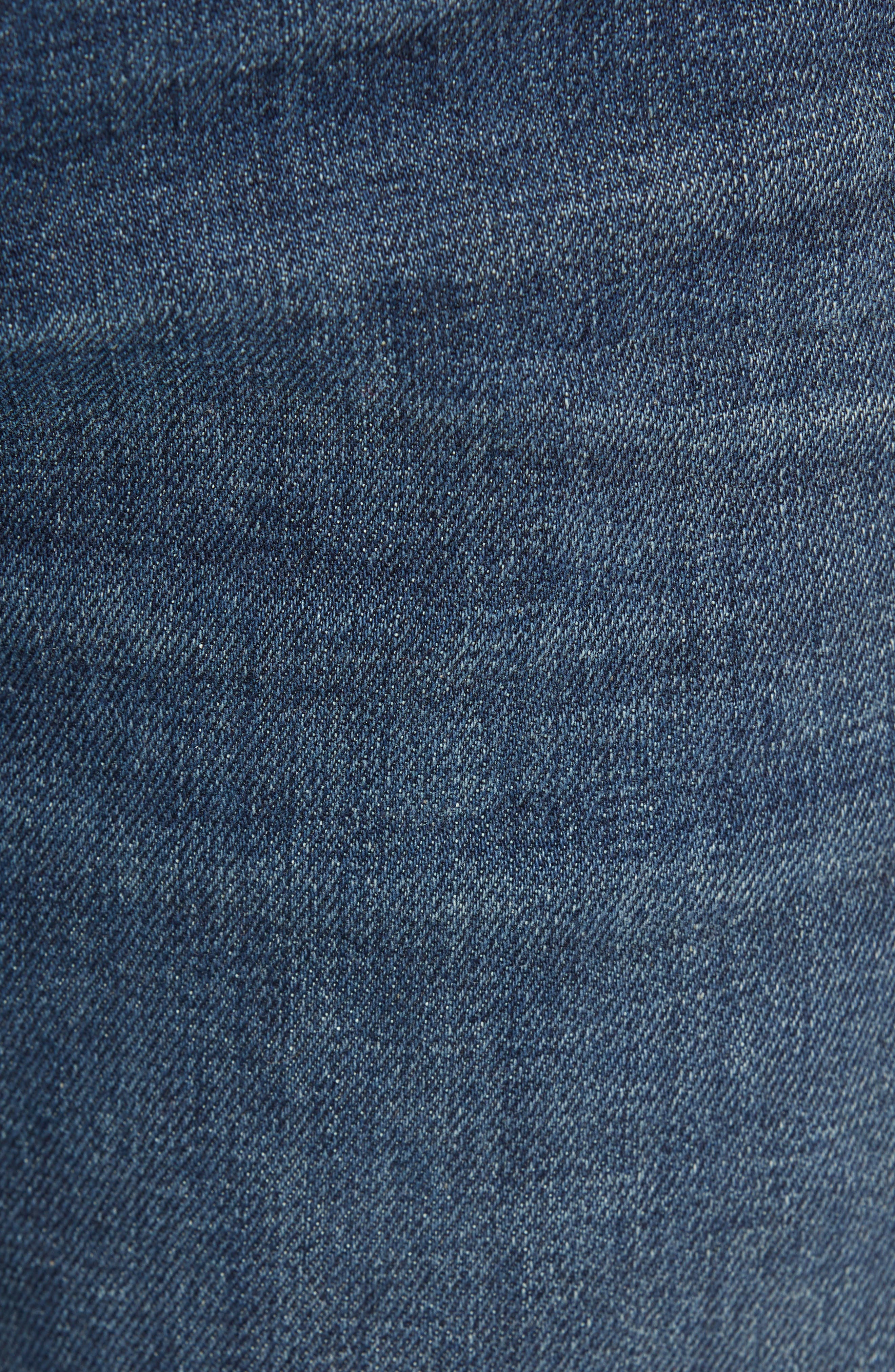 Jimmy Slim Straight Leg Jeans,                             Alternate thumbnail 5, color,                             NIAGARA