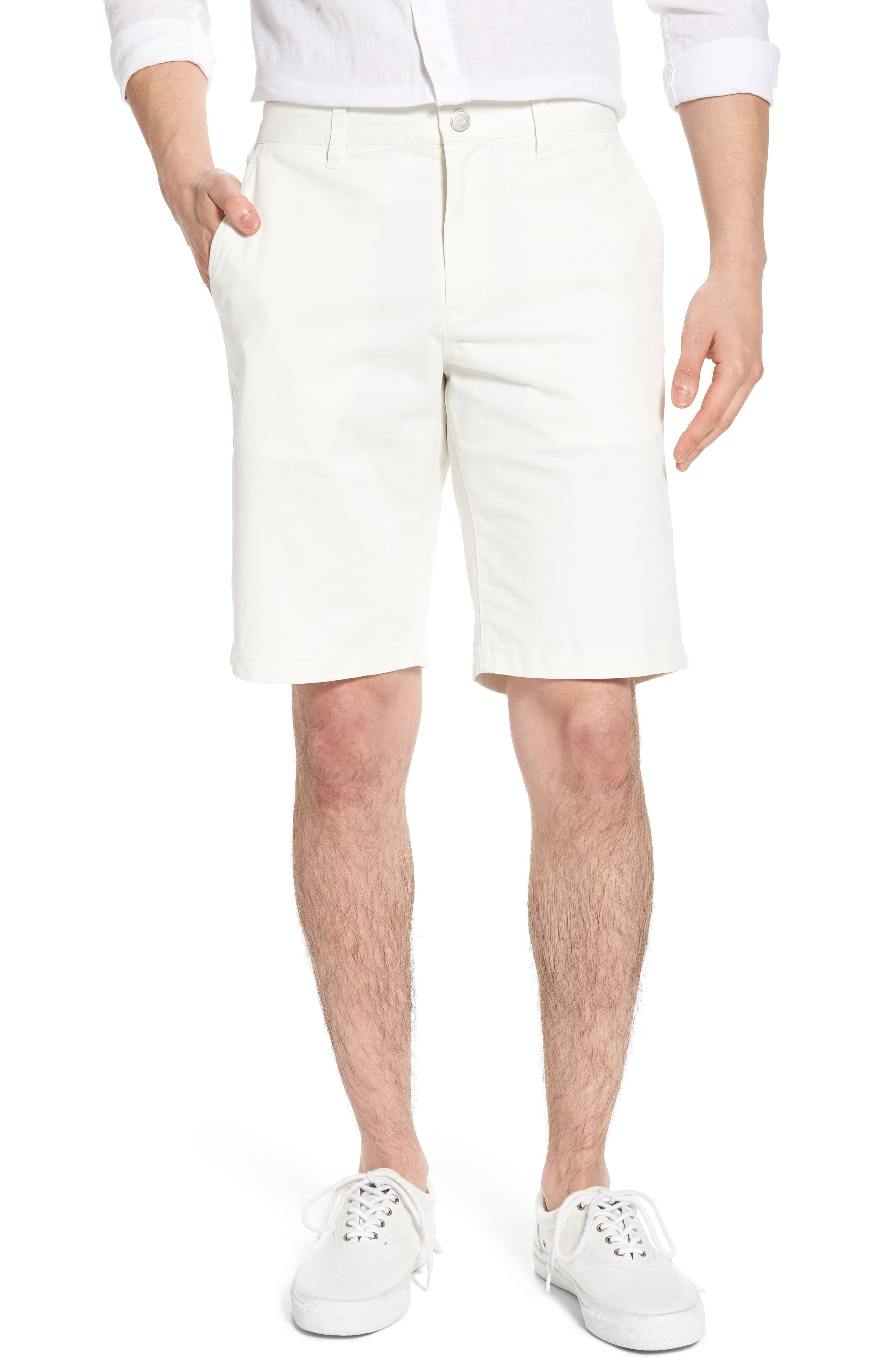 Stretch Washed Chino 11-Inch Shorts,                         Main,                         color, 100