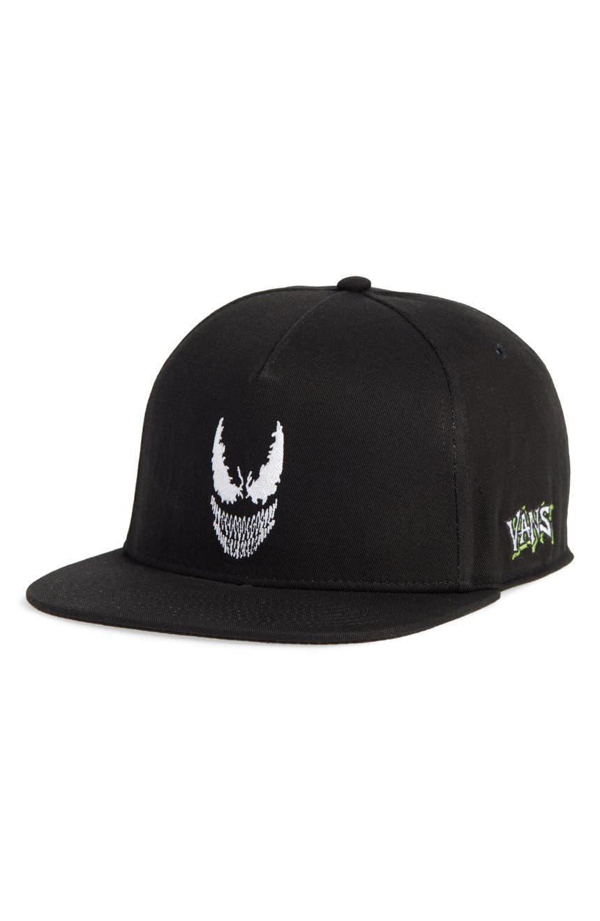 Vans x Marvel Venom Snapback Baseball Cap  65d0492523ed