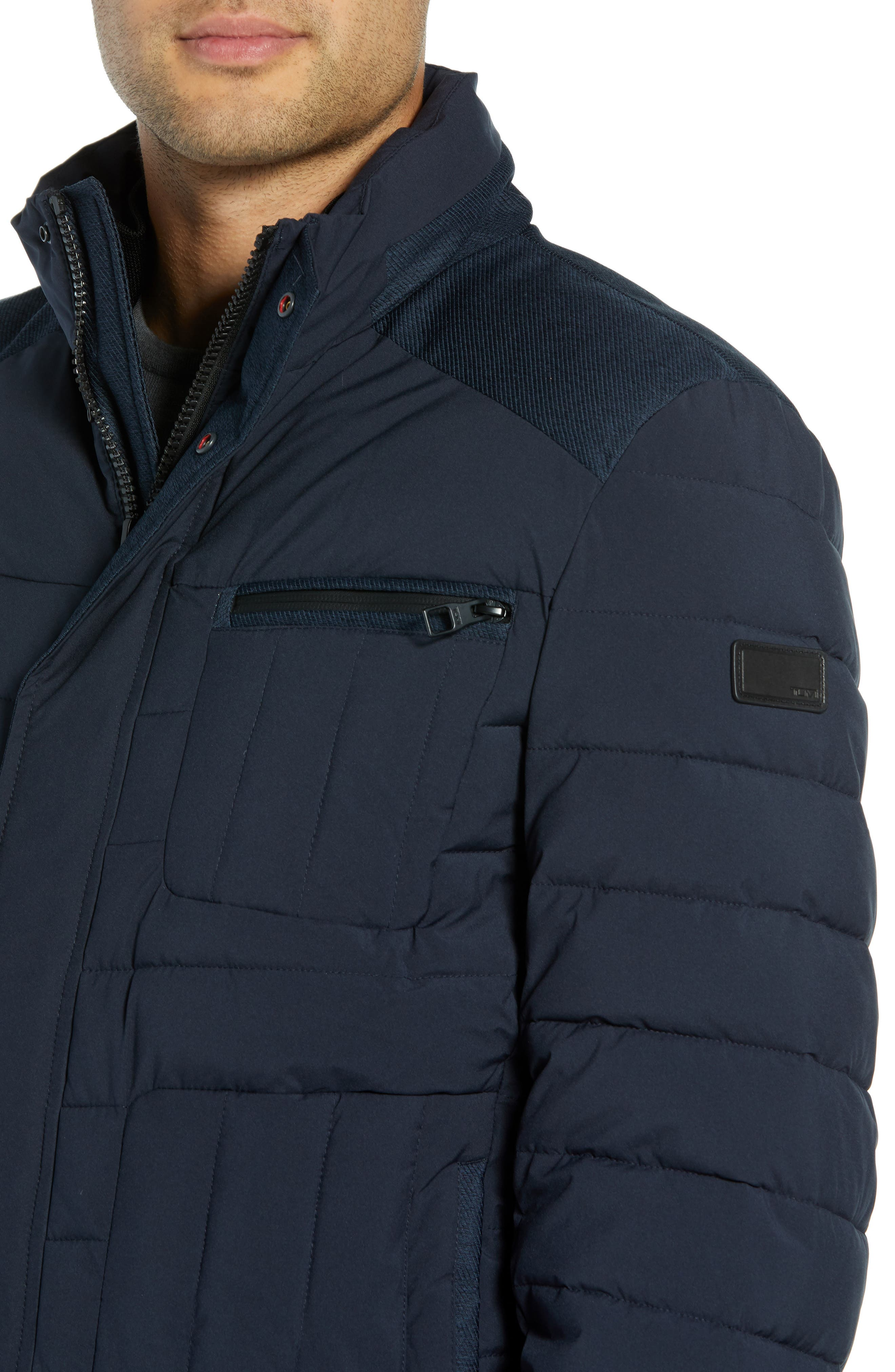 Heritage Quilted Jacket,                             Alternate thumbnail 4, color,                             410