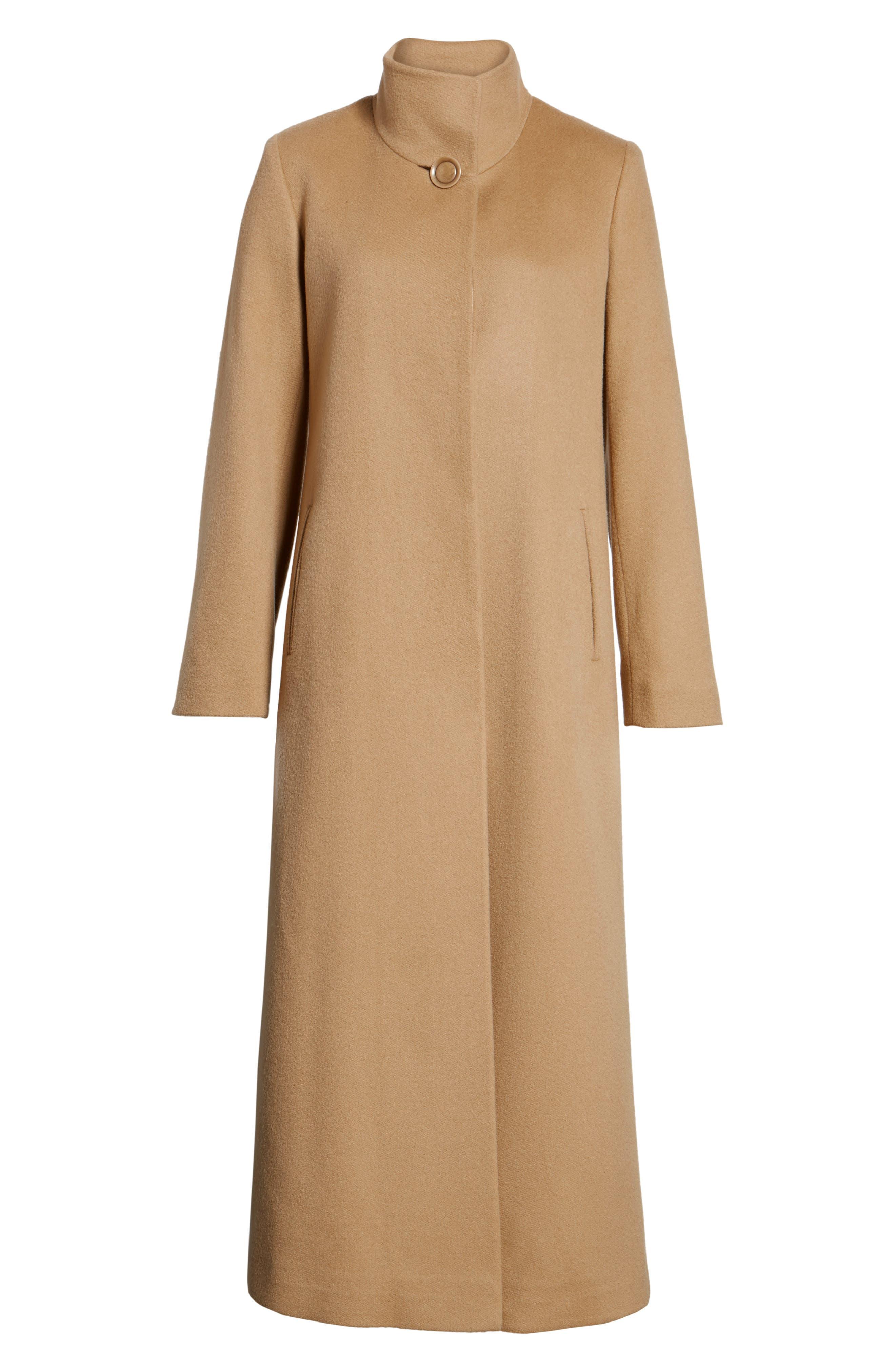 Cashmere Long Coat,                             Alternate thumbnail 10, color,