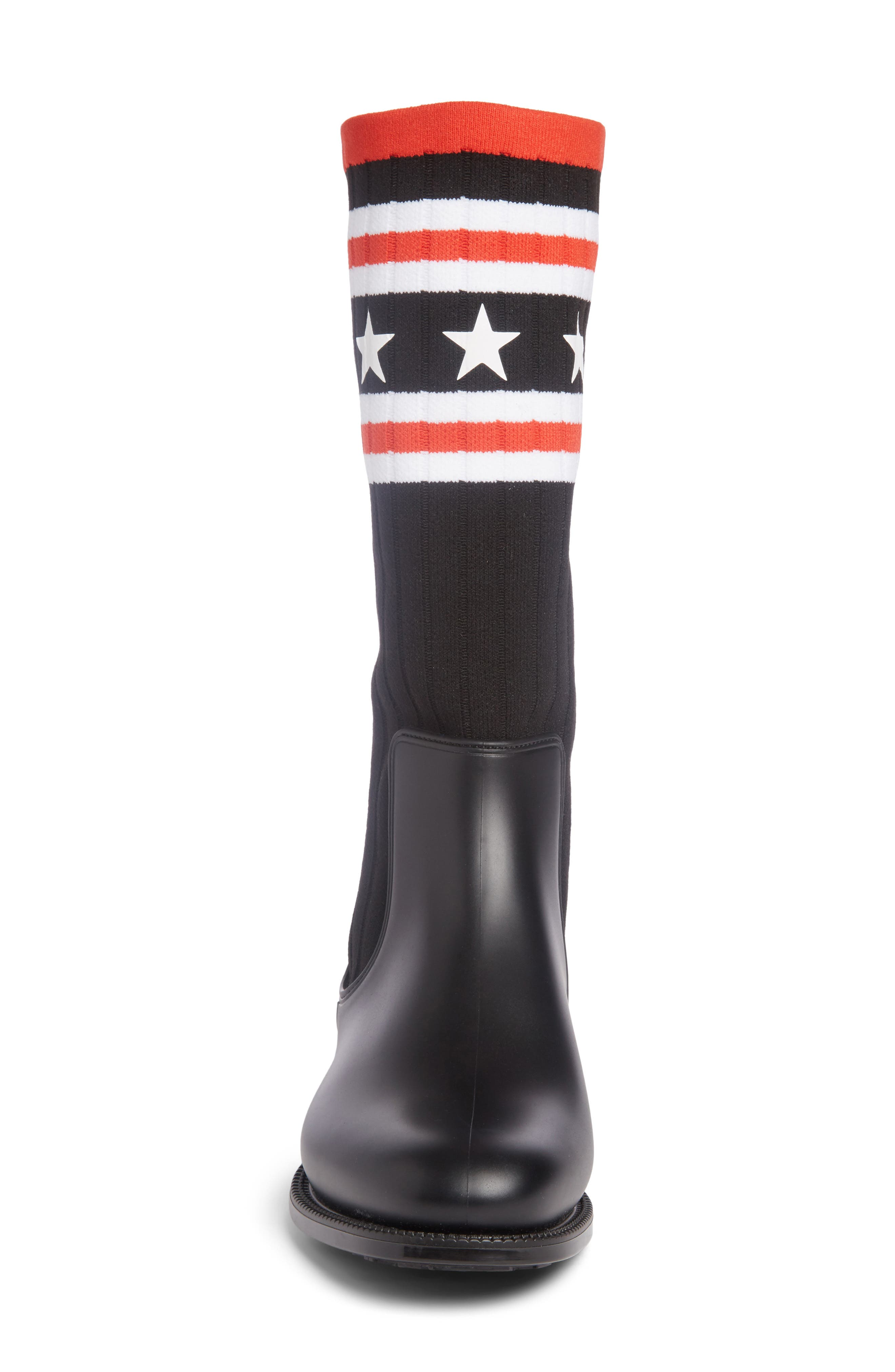 Storm Chelsea Sock Boot,                             Alternate thumbnail 4, color,                             009