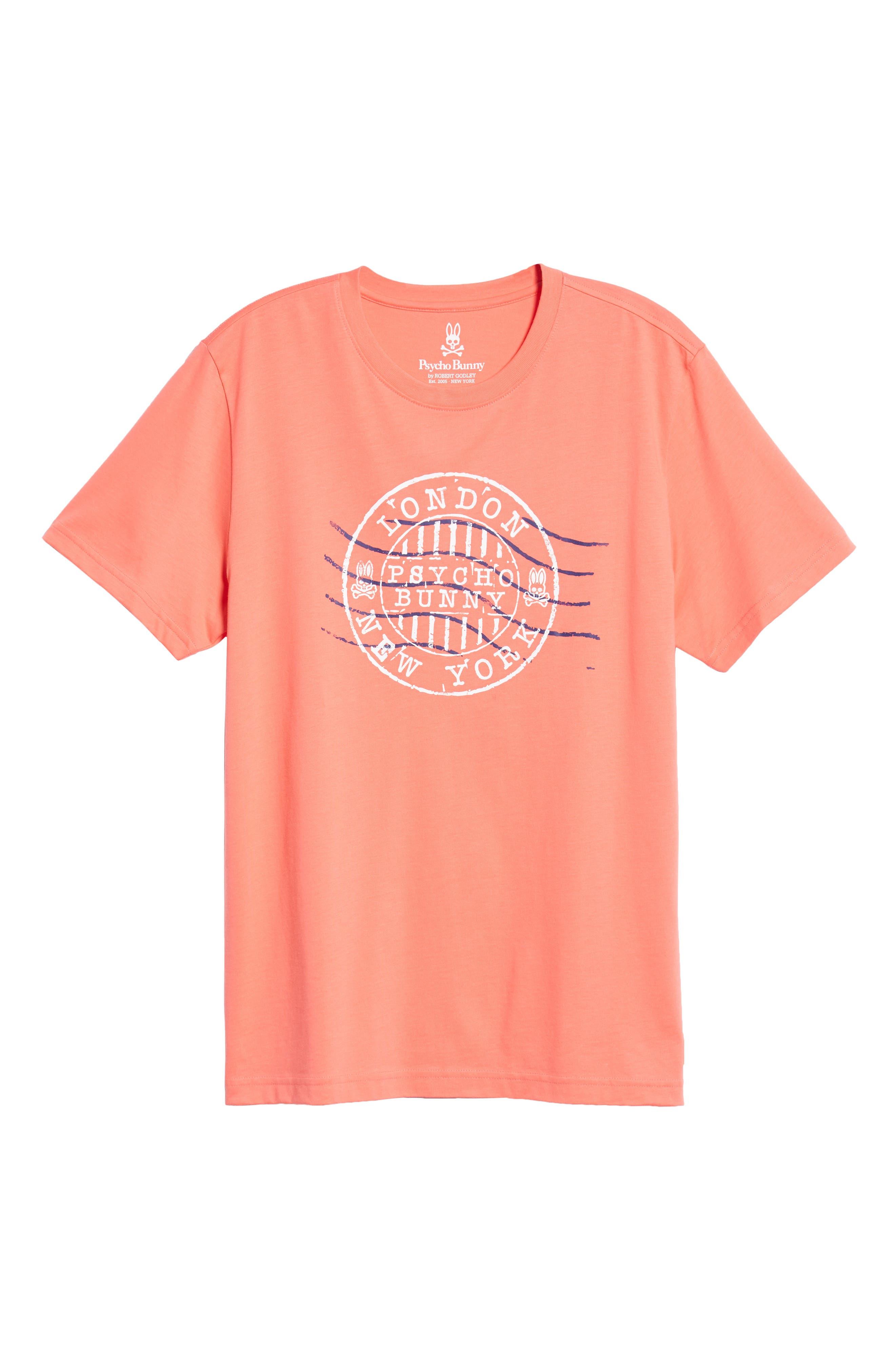 Ashton Graphic T-Shirt,                             Alternate thumbnail 6, color,                             CAMPARI
