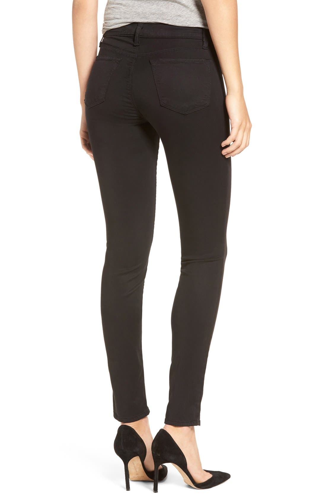 High Waist Ankle Super Skinny Jeans,                             Alternate thumbnail 27, color,