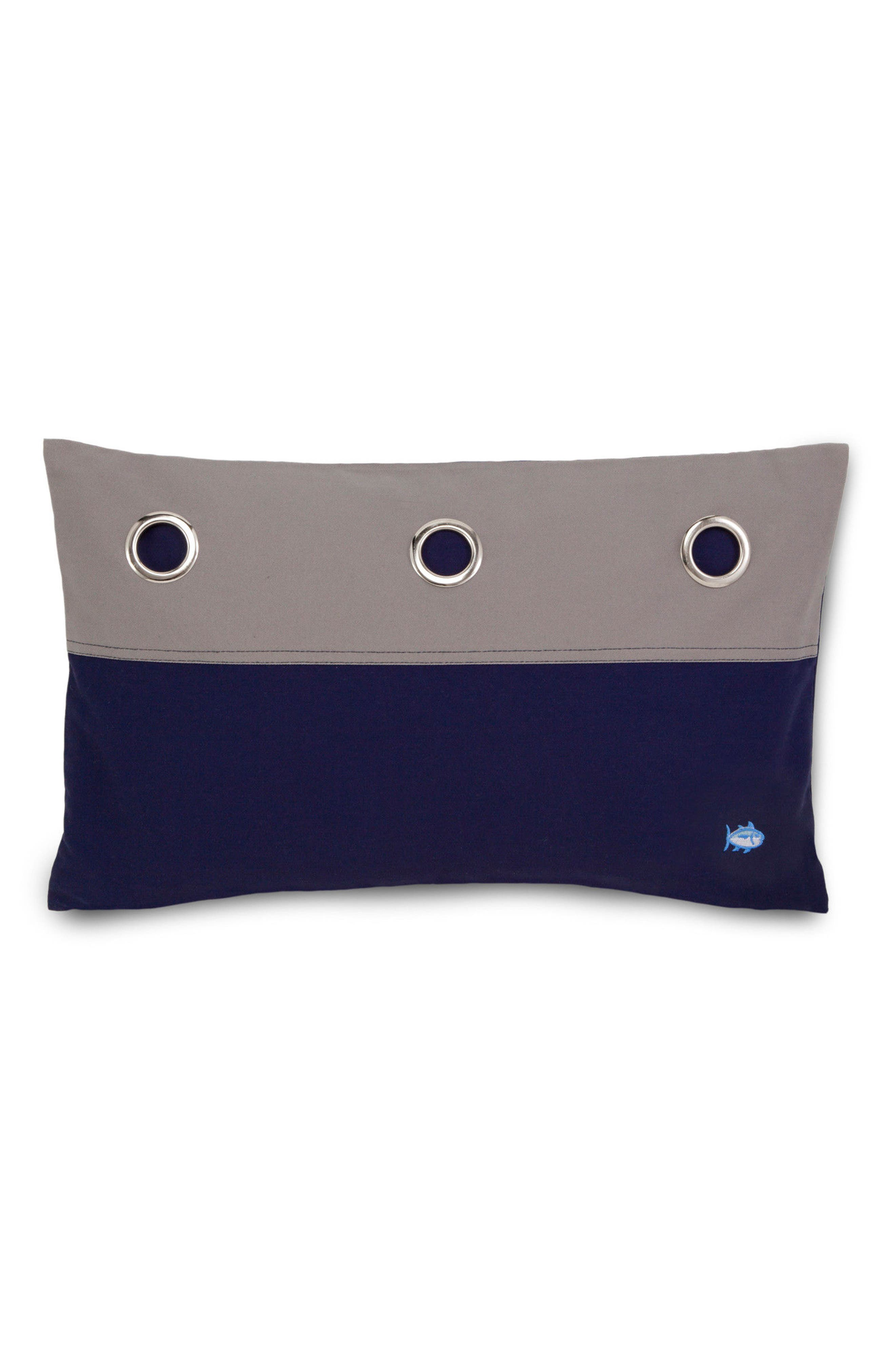 Starboard Grommet Accent Pillow,                             Main thumbnail 1, color,                             020