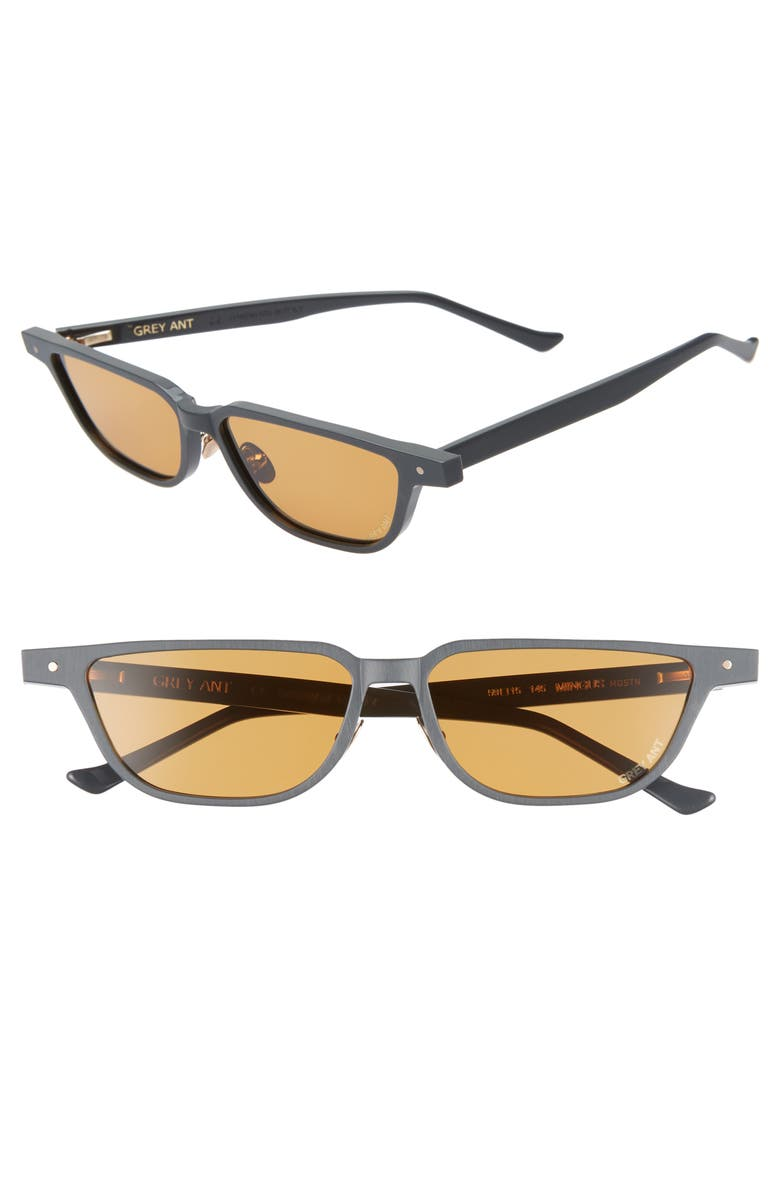 Grey Ant MINGUS 59MM SUNGLASSES - LIGHT GREY