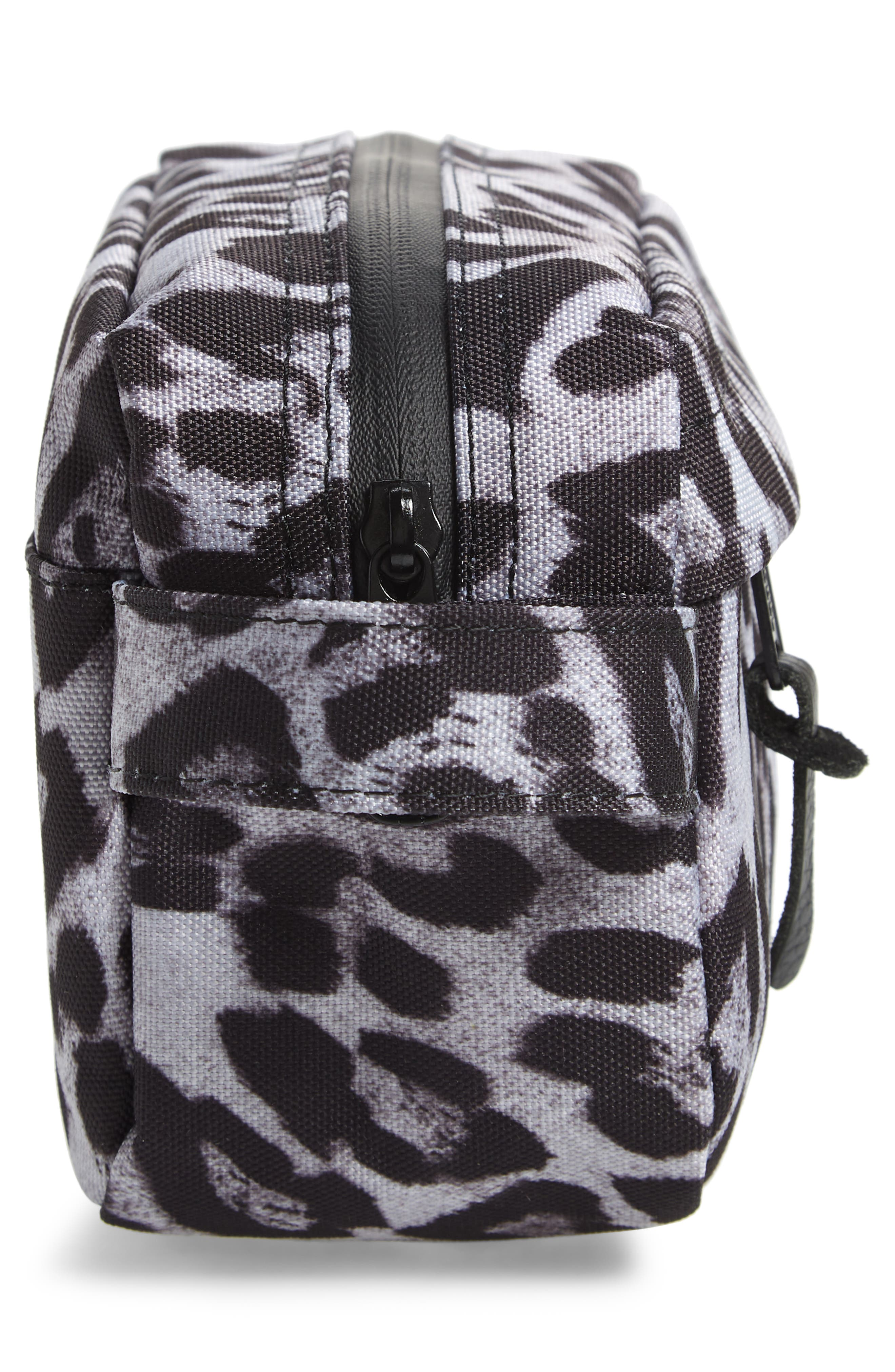Chapter Carry-On Travel Kit,                             Alternate thumbnail 4, color,                             SNOW LEOPARD