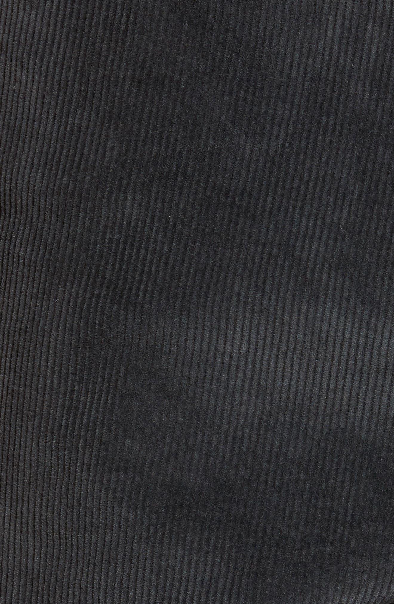 Outsider Corduroy Shorts,                             Alternate thumbnail 5, color,                             010