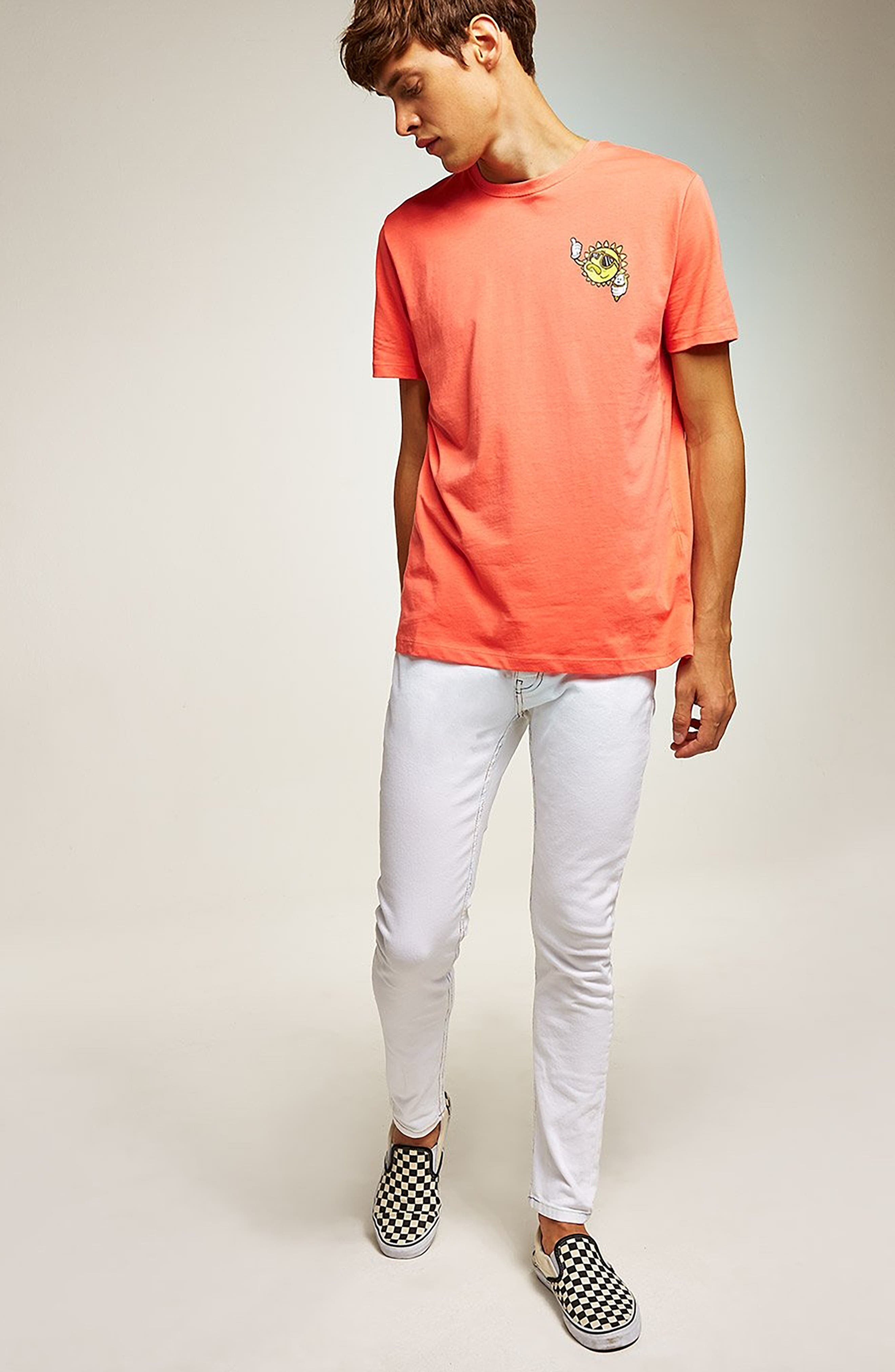 Sun T-Shirt,                             Alternate thumbnail 5, color,                             PINK
