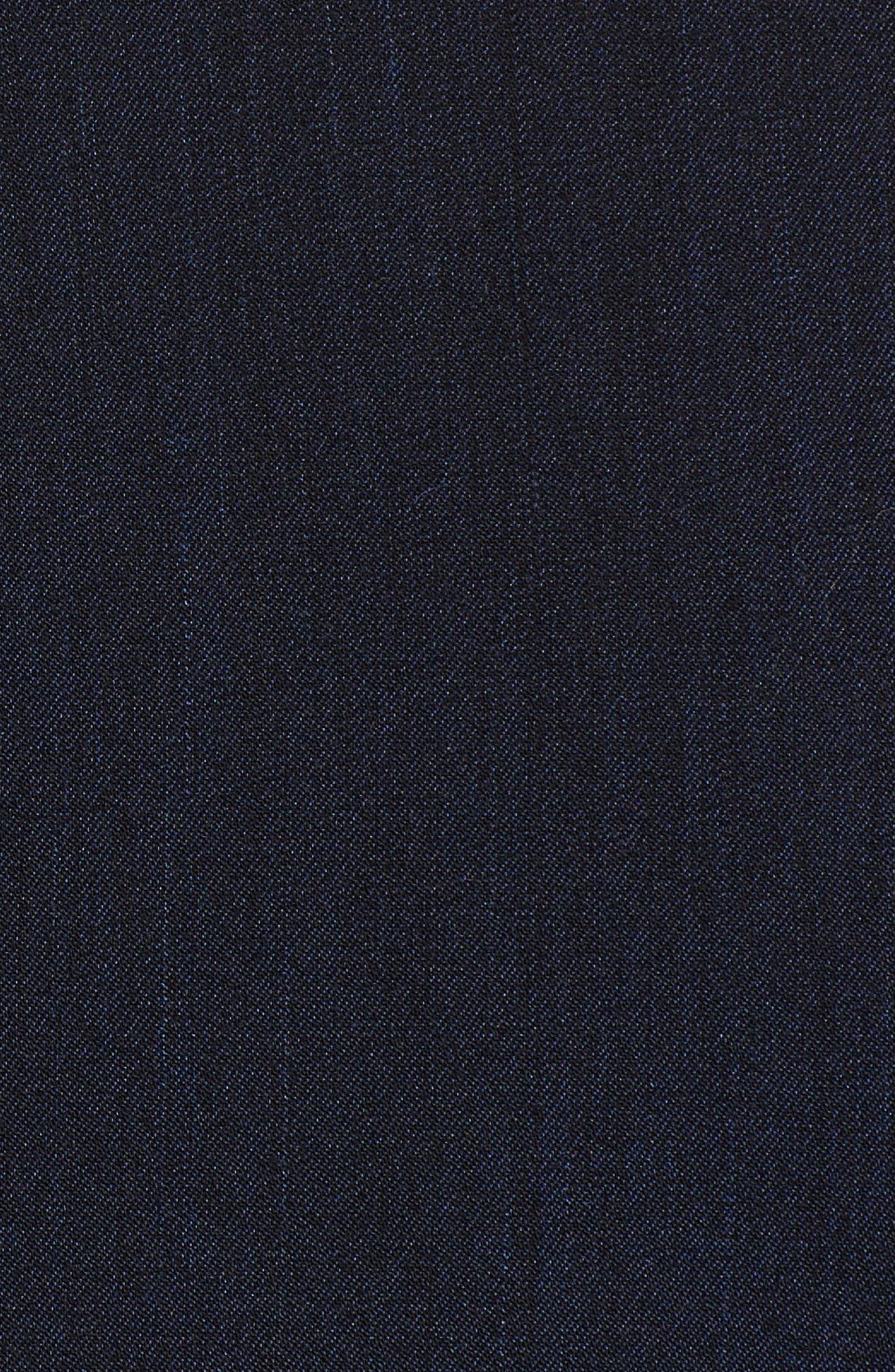 Notch Collar Stretch Denim Dress,                             Alternate thumbnail 10, color,