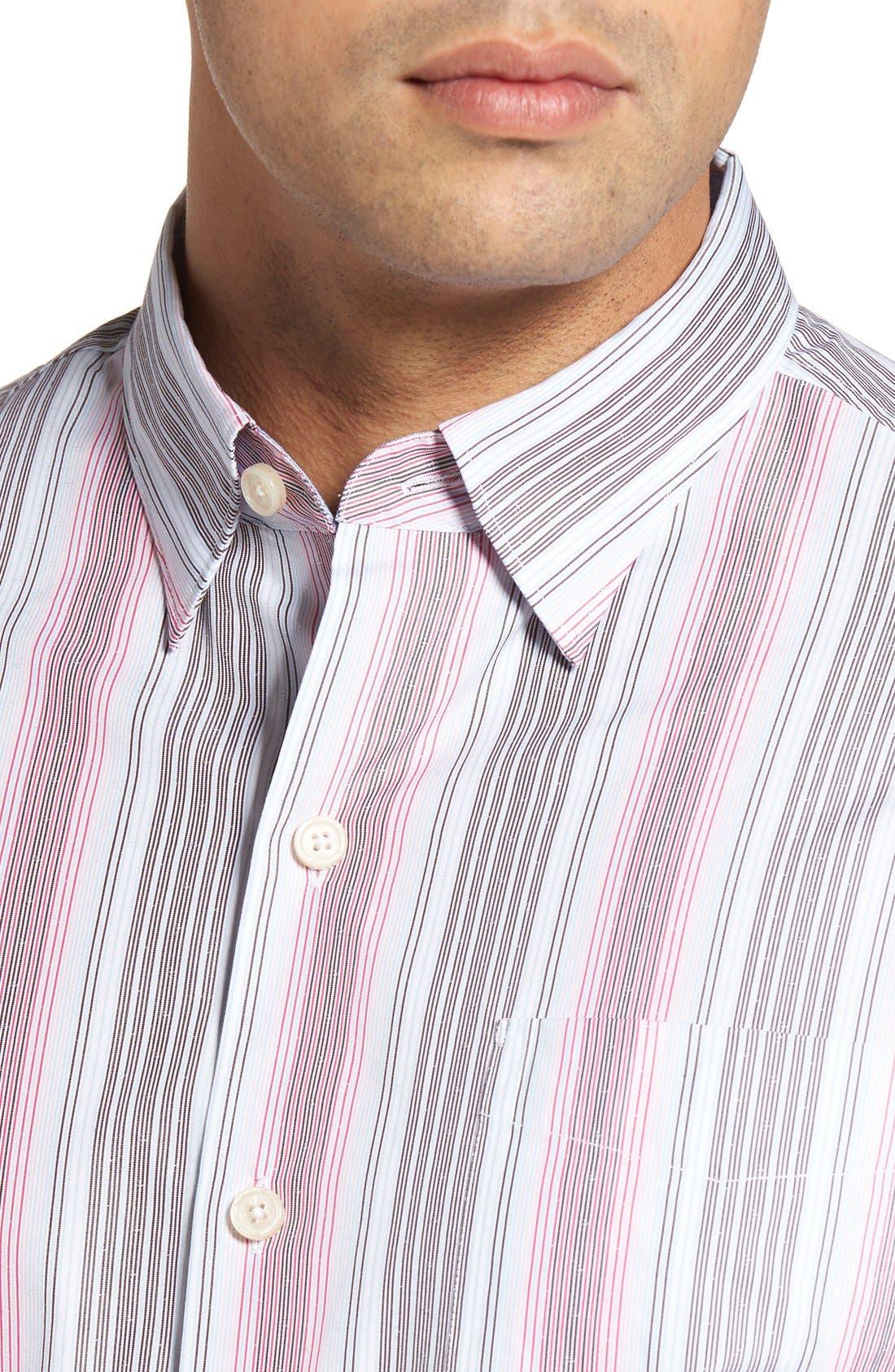 Roda Viva Original Fit Sport Shirt,                             Alternate thumbnail 8, color,                             400