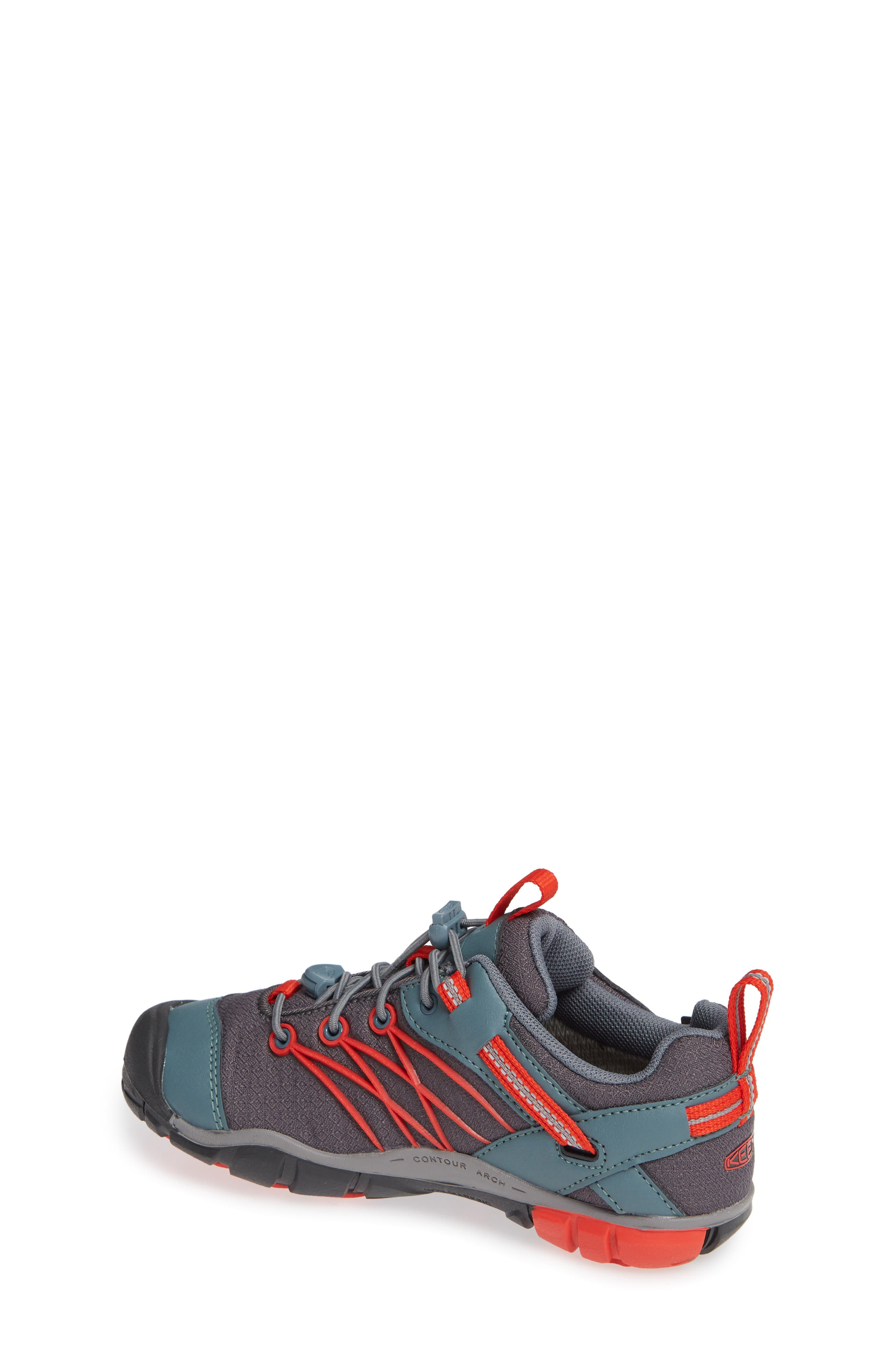 Chandler CNX Waterproof Sneaker,                             Alternate thumbnail 2, color,                             STORMY/ RED