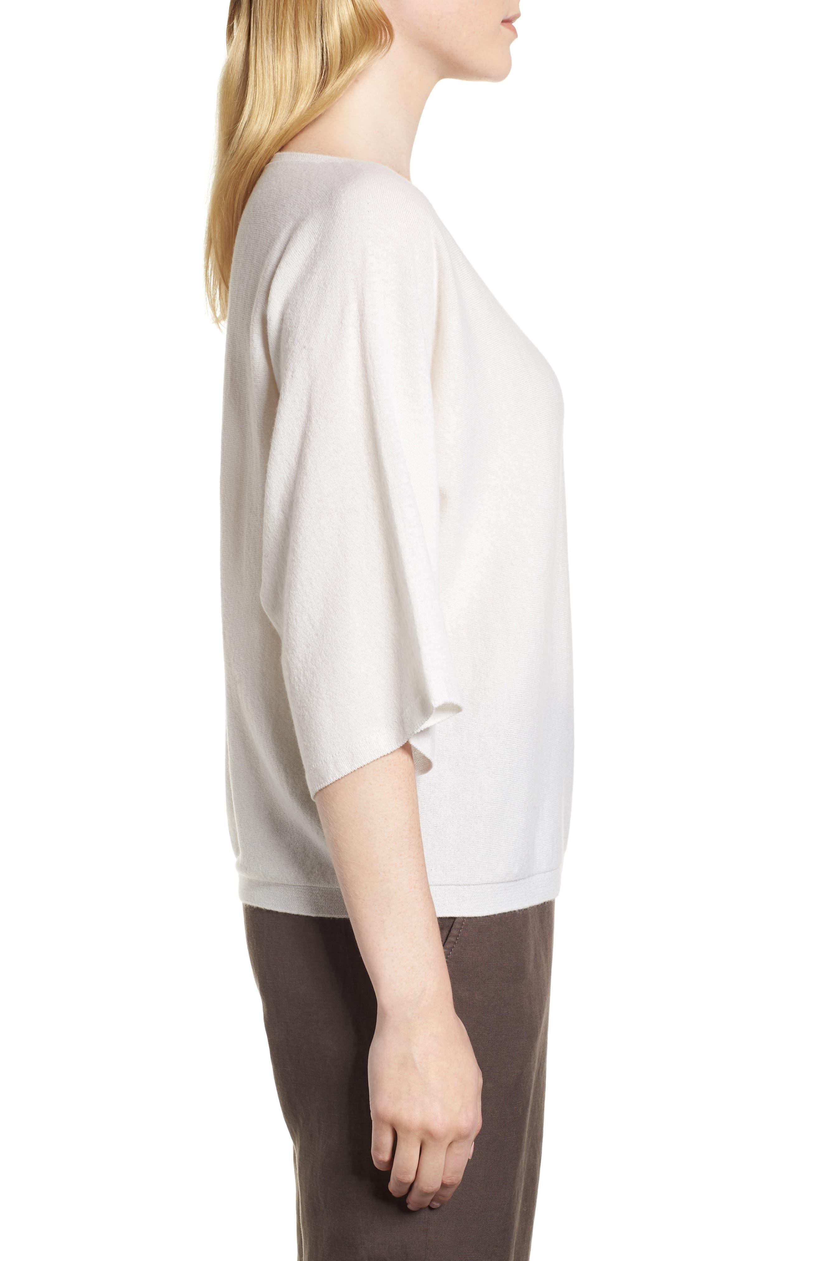 Cashmere Sweater,                             Alternate thumbnail 8, color,