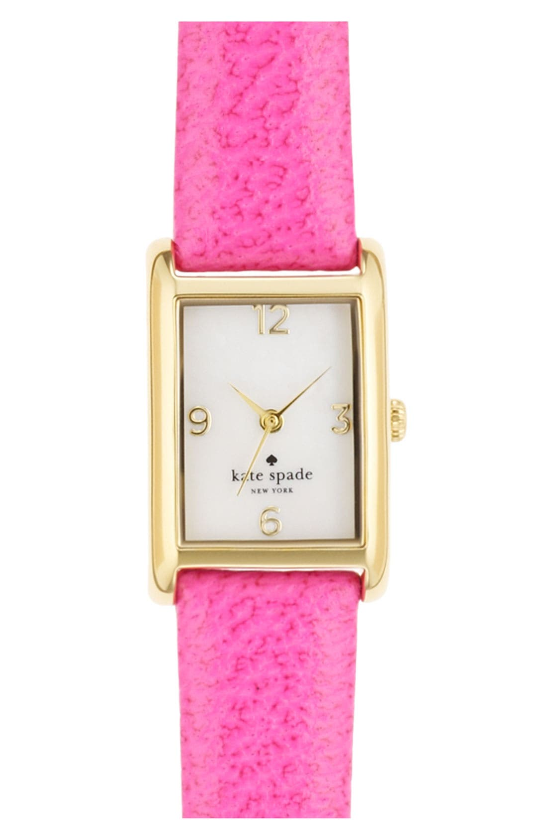 'cooper' leather strap watch, 21mm x 32mm,                             Main thumbnail 9, color,