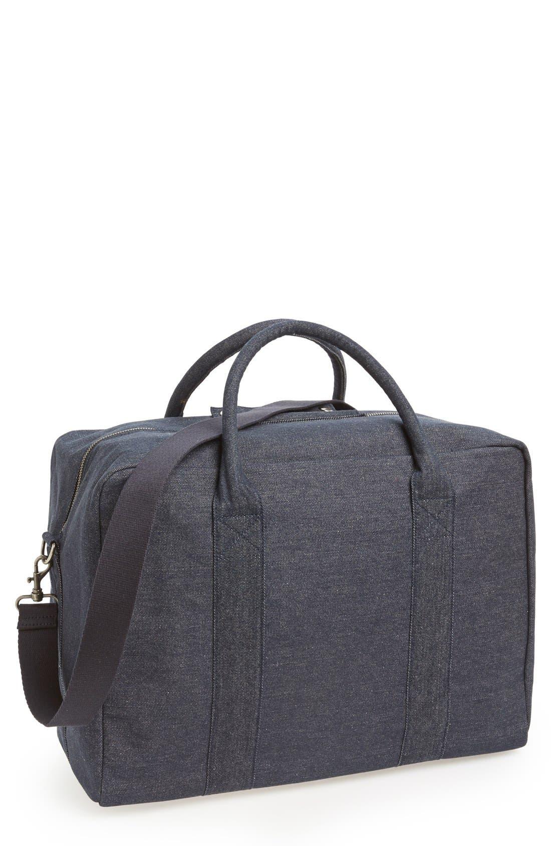 Denim Duffle Bag, Main, color, 461